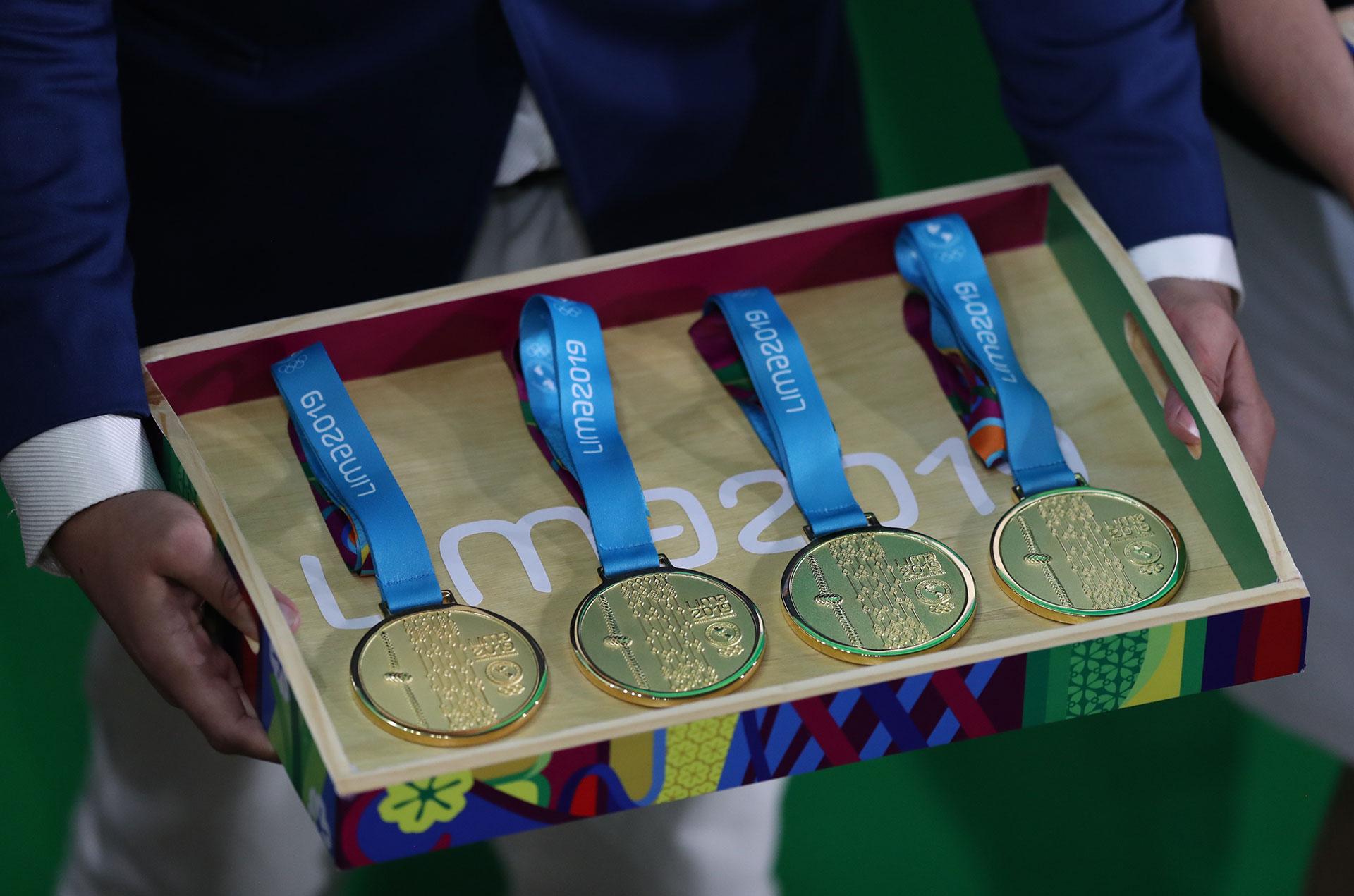 Las medallas doradas, el anhelo de todo deportista en Lima 2019