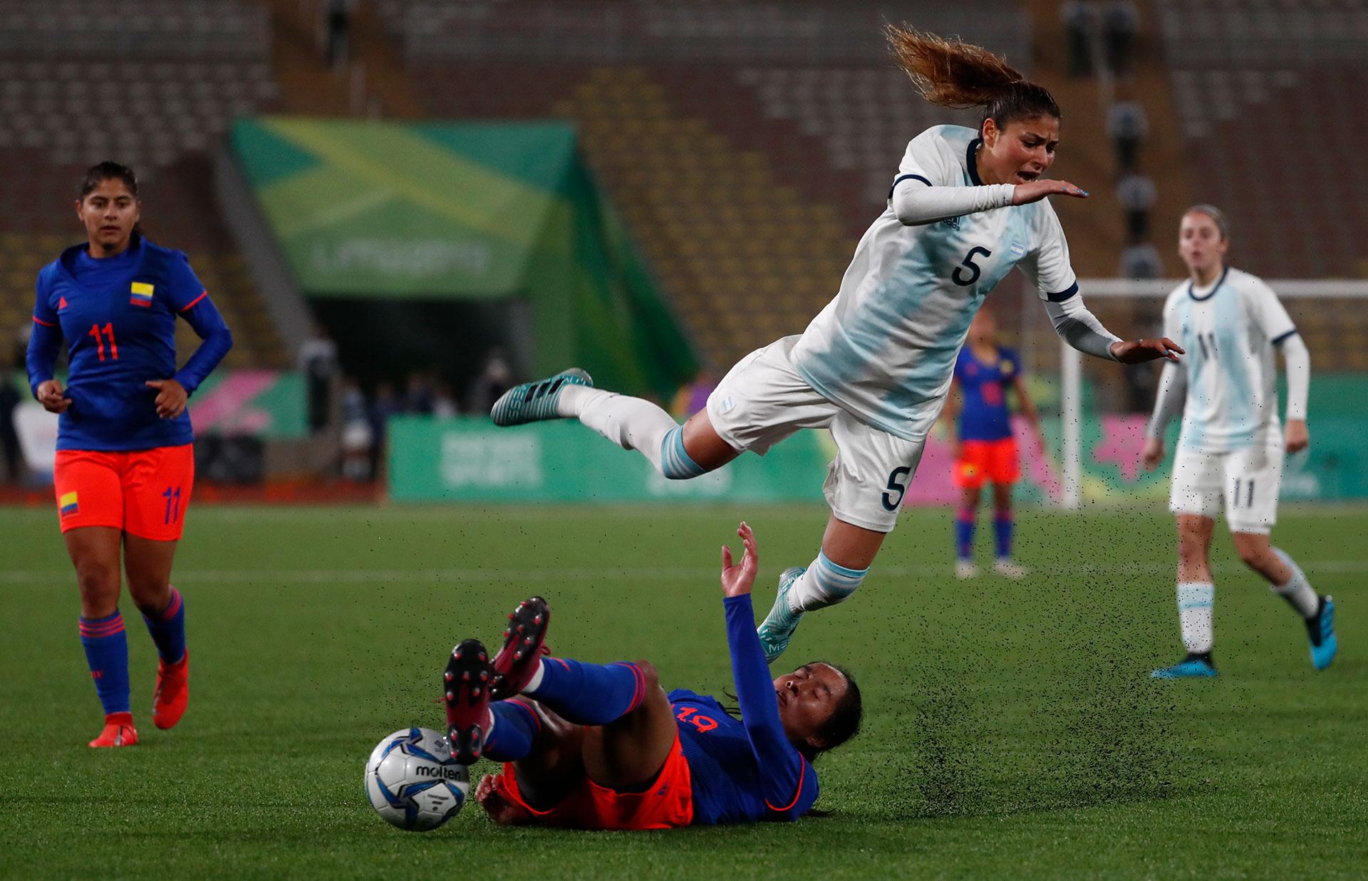 """La final del fútbol femenino fue entre Colombia y Argentina. Las """"Cafeteras"""" se llevaron el Oro"""