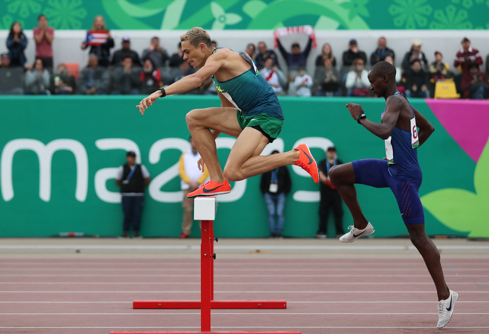 Los 110 metros con vallas ponen a prueba a los atletas