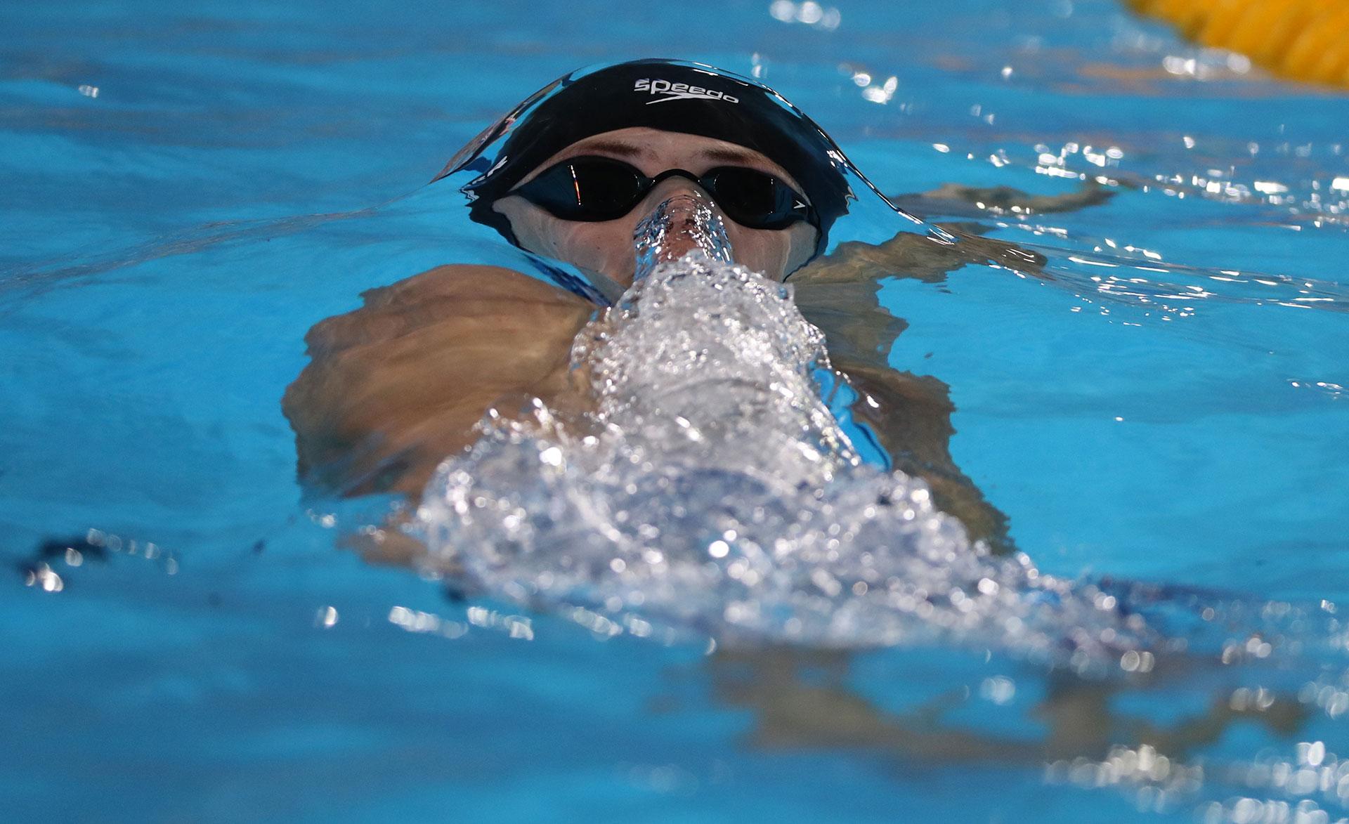 La natación fue una de las pruebas que mayor atención concentró