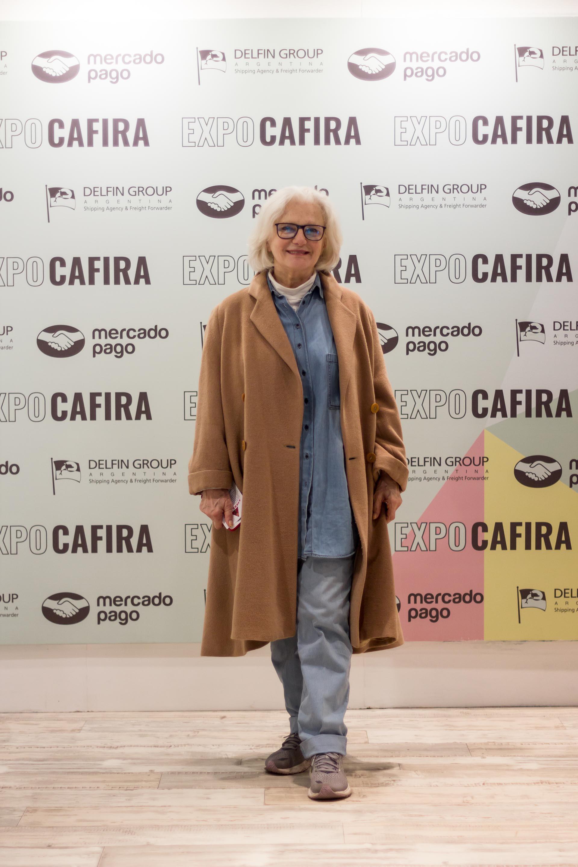 La ambientadora Gloria Cesar participó de la la XXVI Edición de Expo CAFIRA, la exposición internacional de fabricantes e importadores de artículos de decoración, regalos y afines más importante del país en Costa Salguero