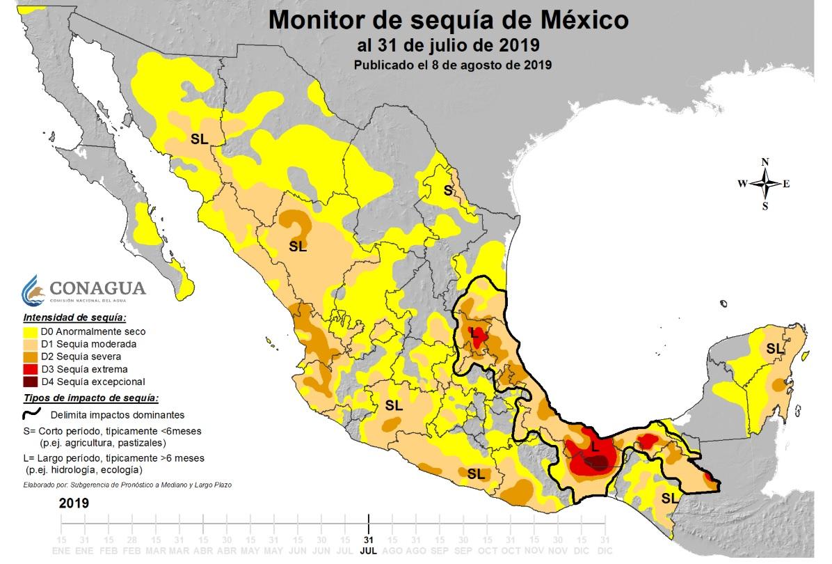 sequia chiapas mexico 2019