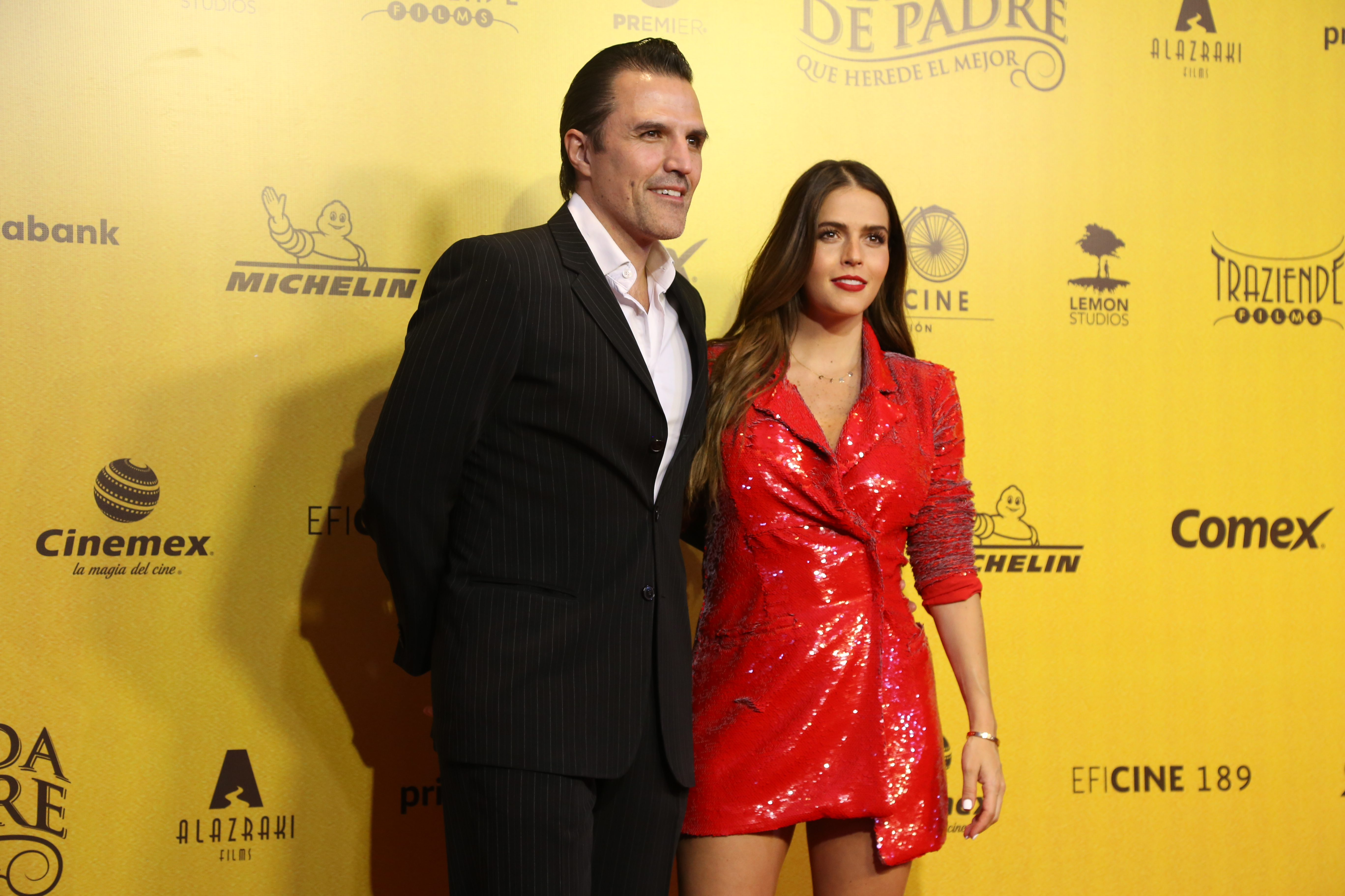 Billy Rovzar y Claudia Álvarez