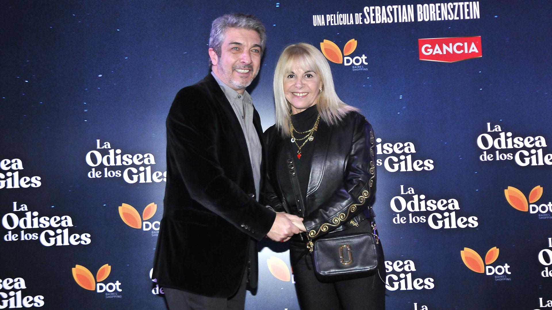 Ricardo Darín y Claudia Villafañe