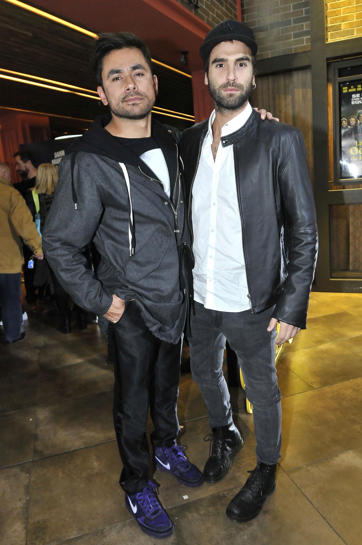 Daniel Pacheco y Nico Furtado