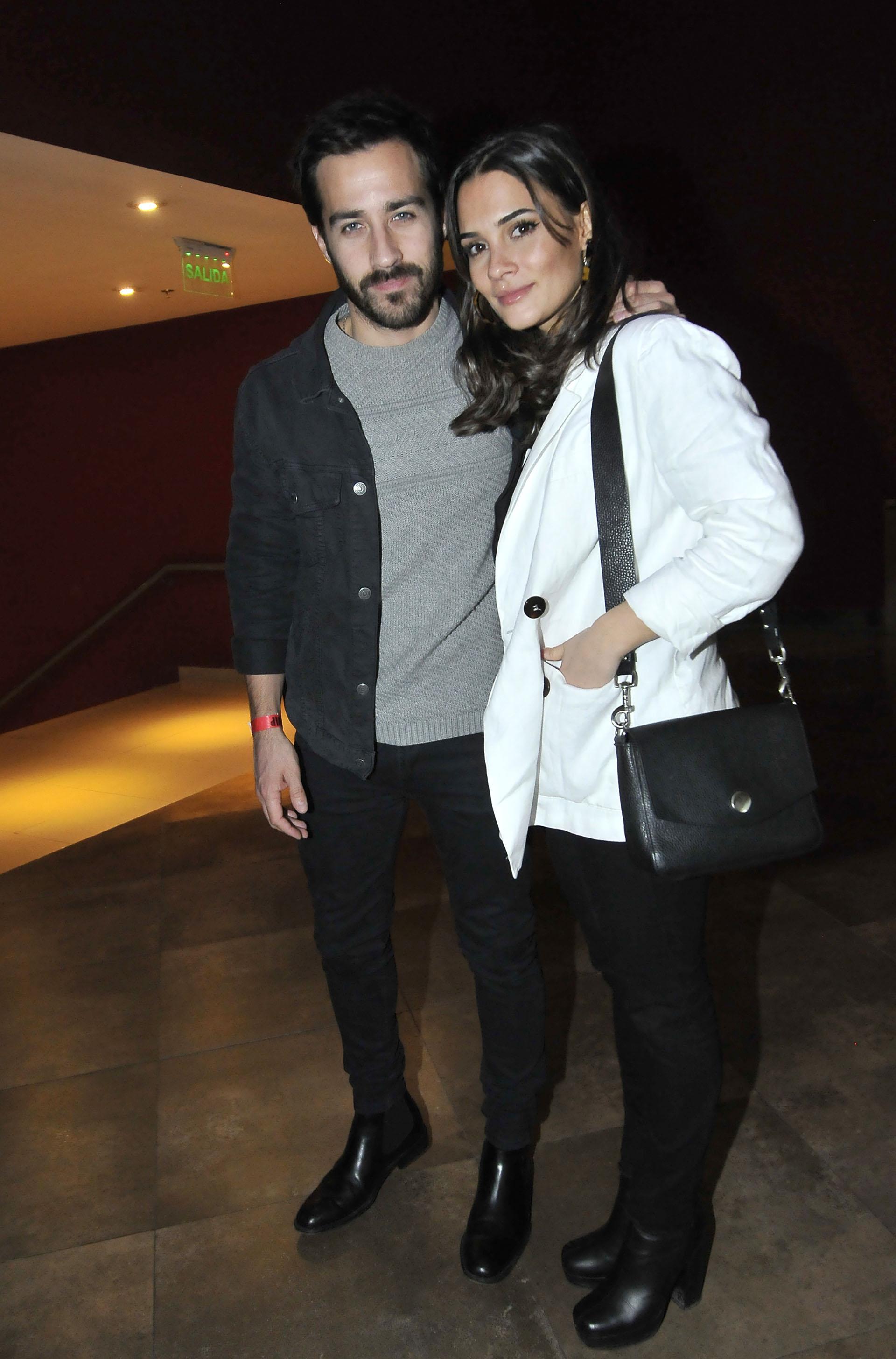 Nico Francella y su pareja