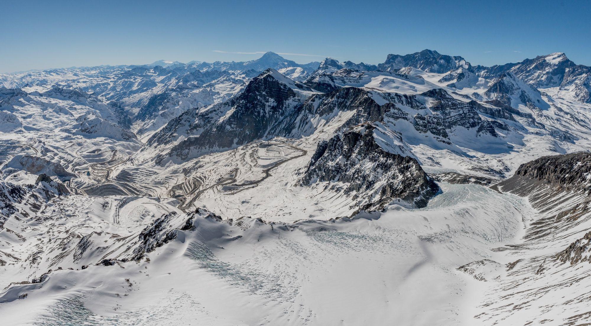 Los glaciares de Chile se enfrentan a un problema aún mayor que el cambio  climático - Infobae