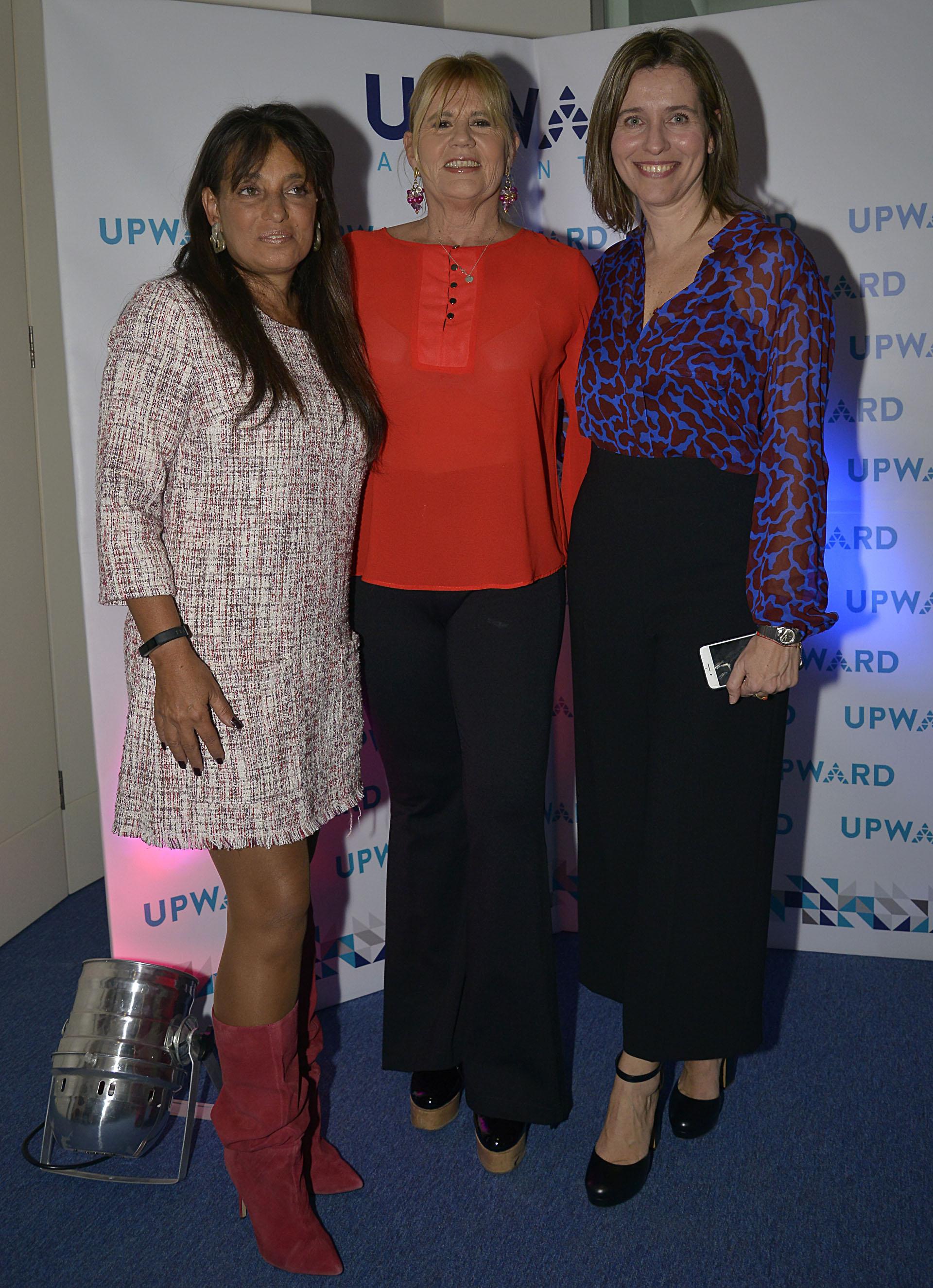 Viviana Zocco, Marcela Losardo y Patricia Santa Marina (MINERBA)