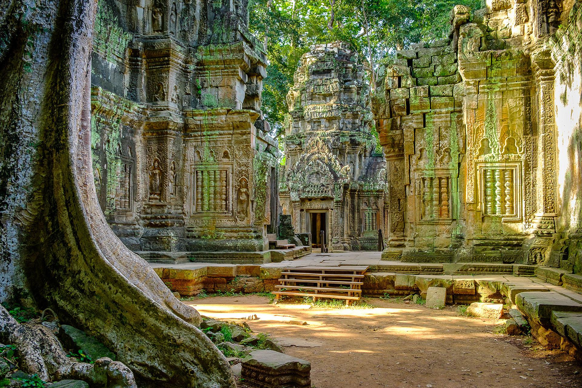 La mayoría de las visitas a Camboya se centran en explorar Siem Reamp y los templos de Angkor Wat