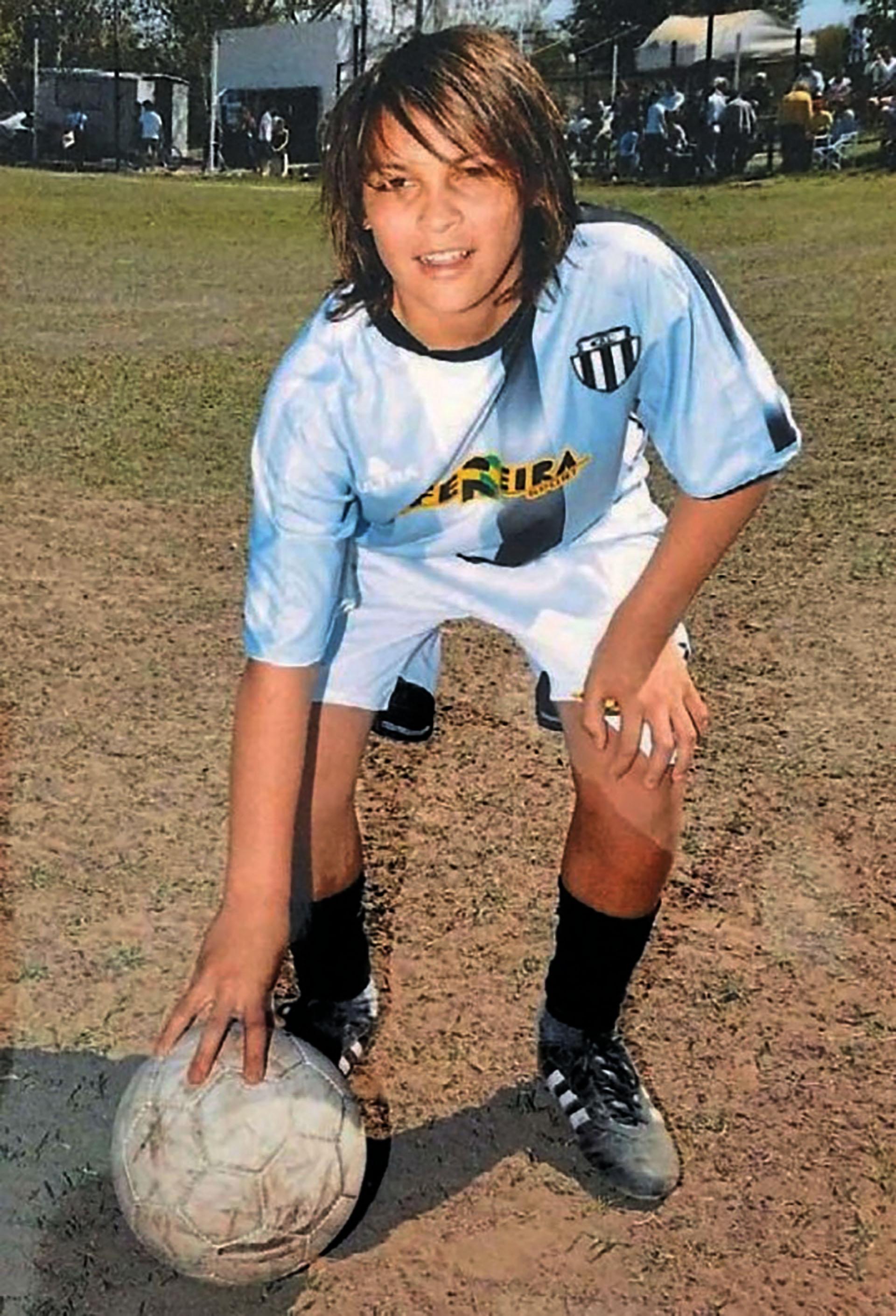 Lautaro Martínez en su Bahía Blanca natal