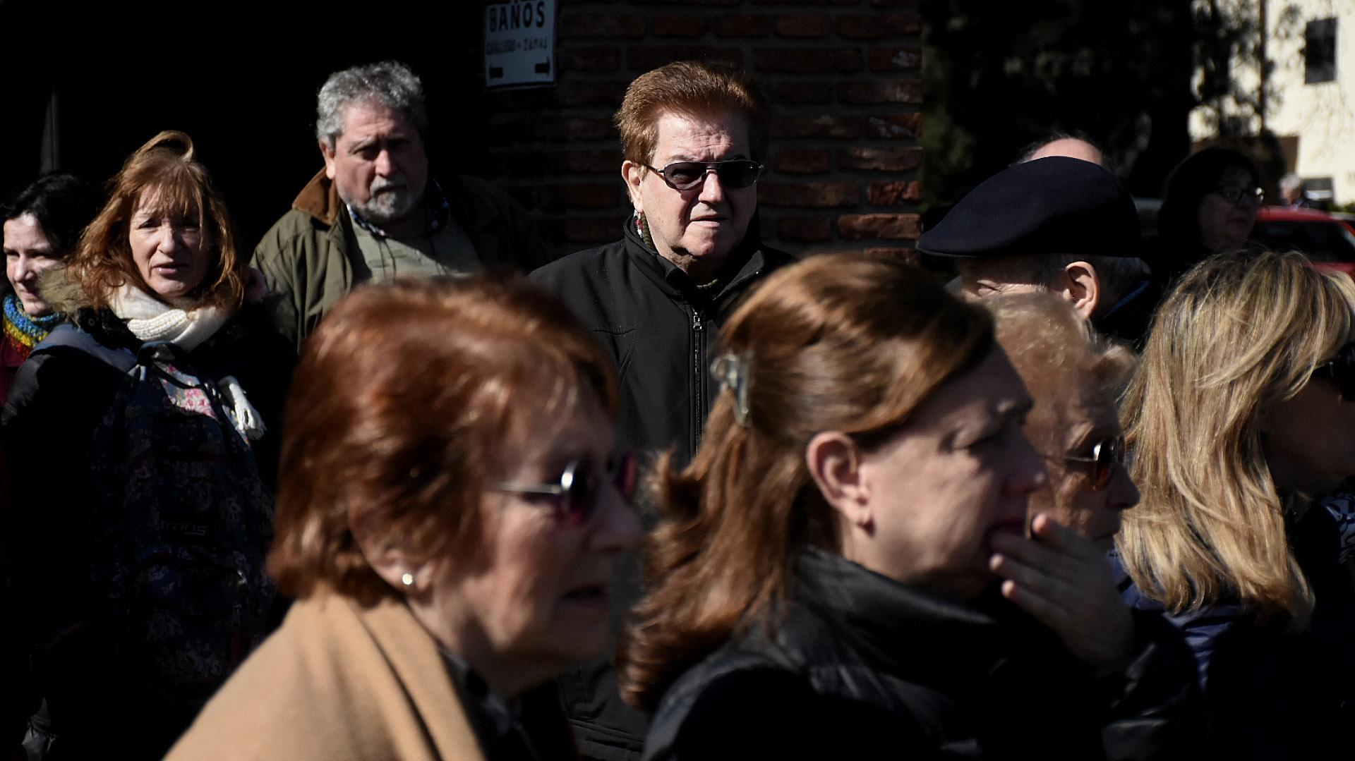 El velatorio del cineasta se realizó en la ENERC durante el sábado y el domingo