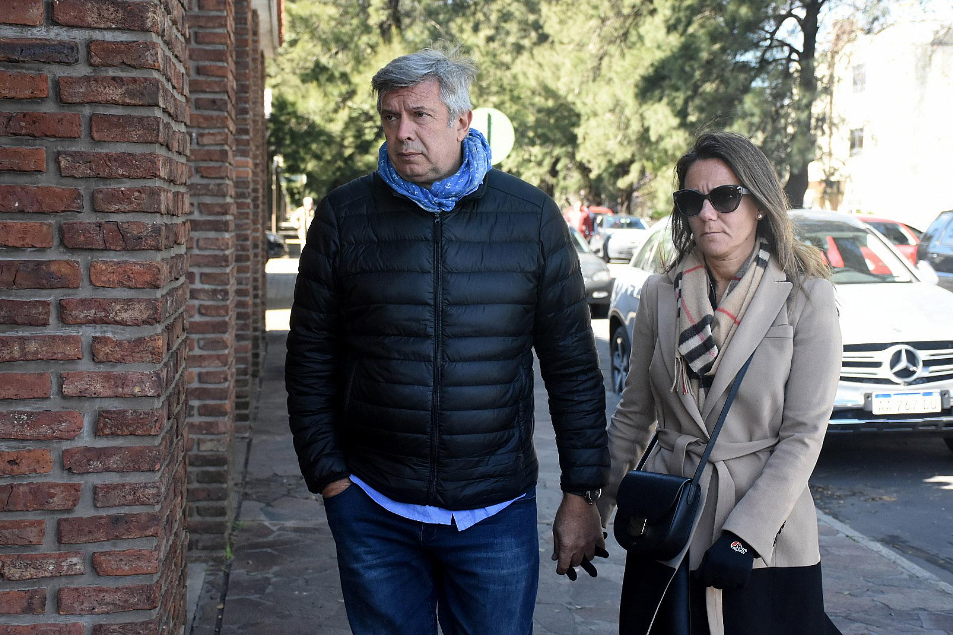 Los abogados Mauricio D'Alessandro y Mariana Gallego