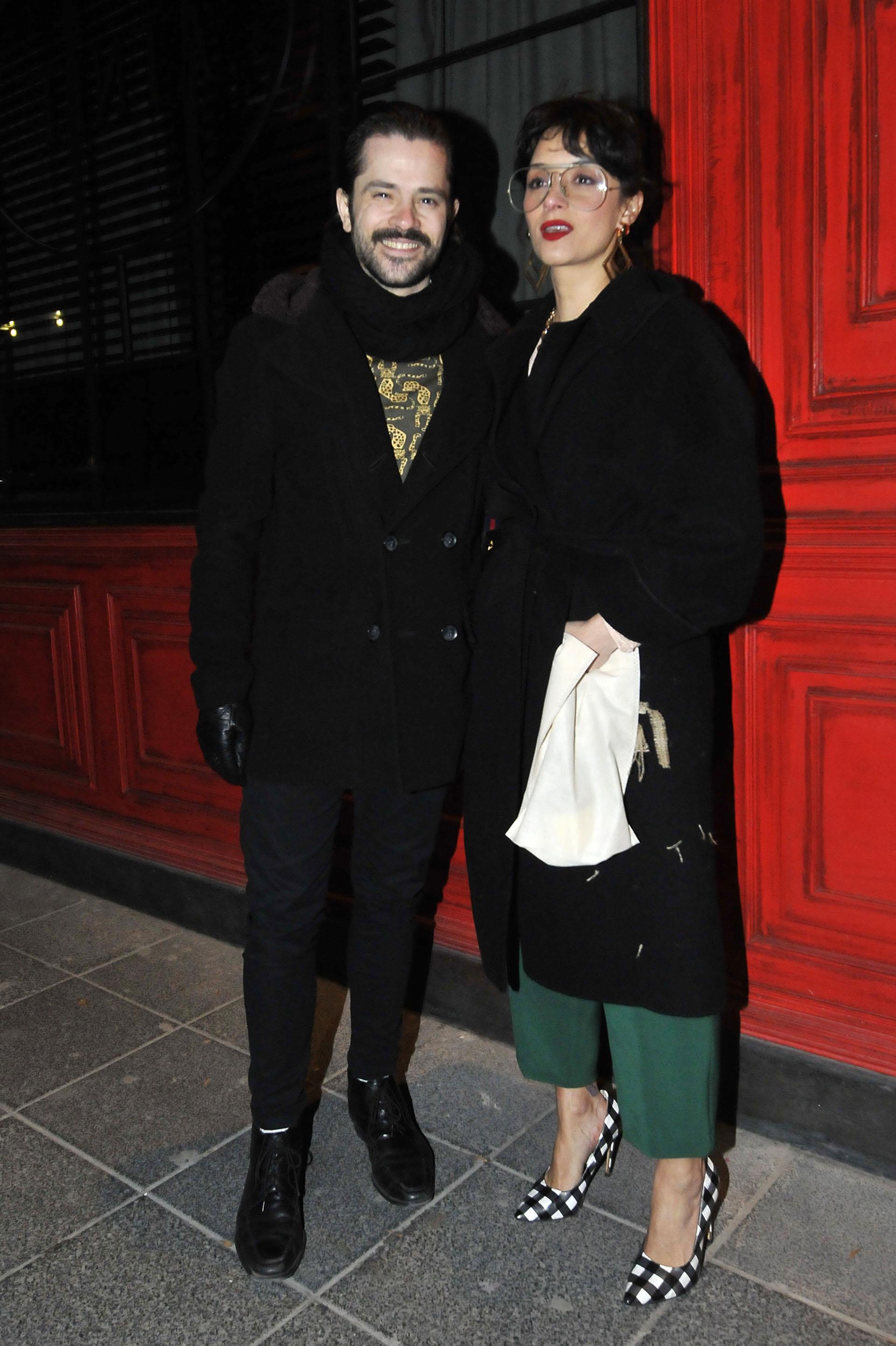 Felipe Colombo y su mujer Cecilia