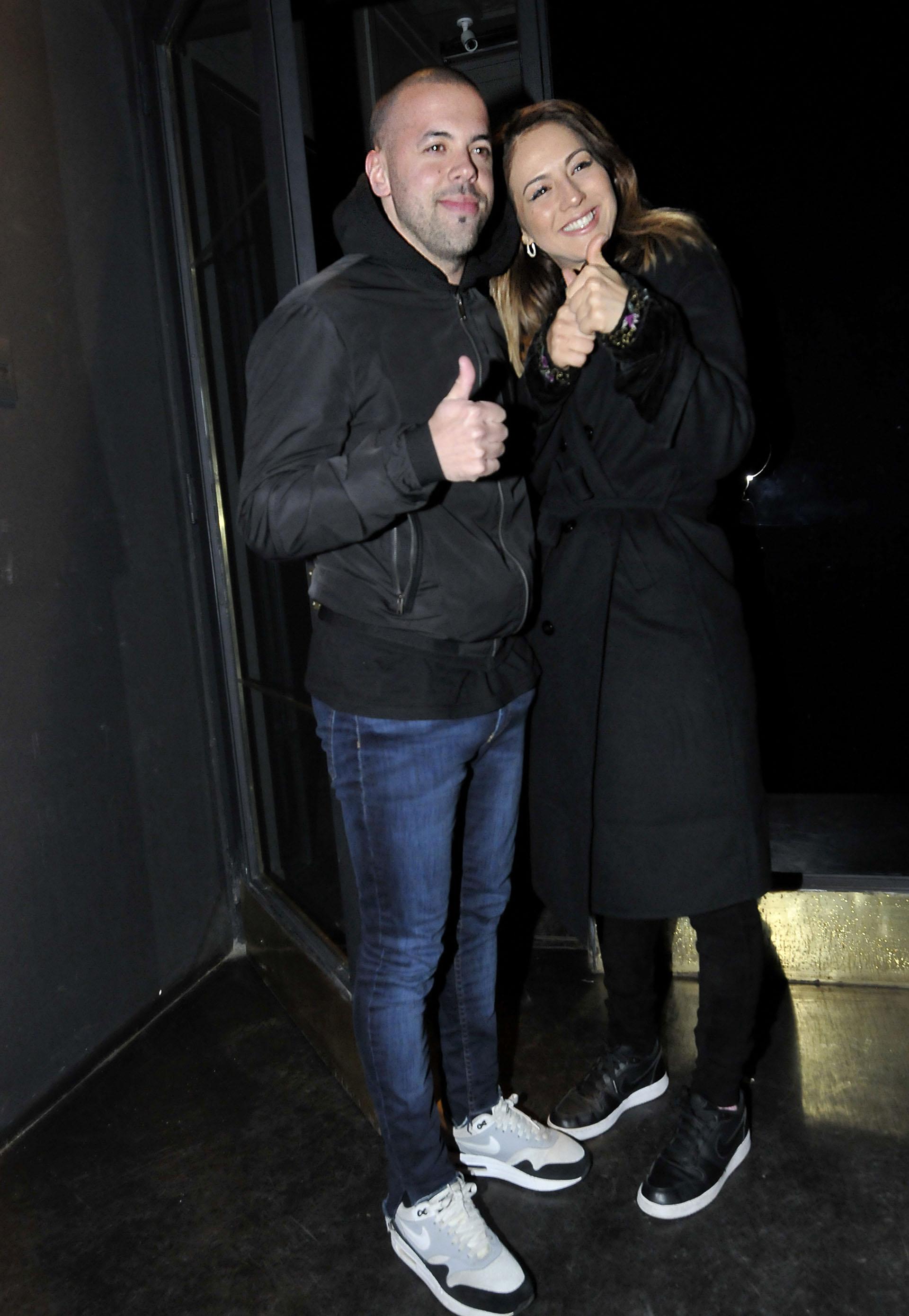 Matías Napp y Flor Vigna ya no ocultan su amor