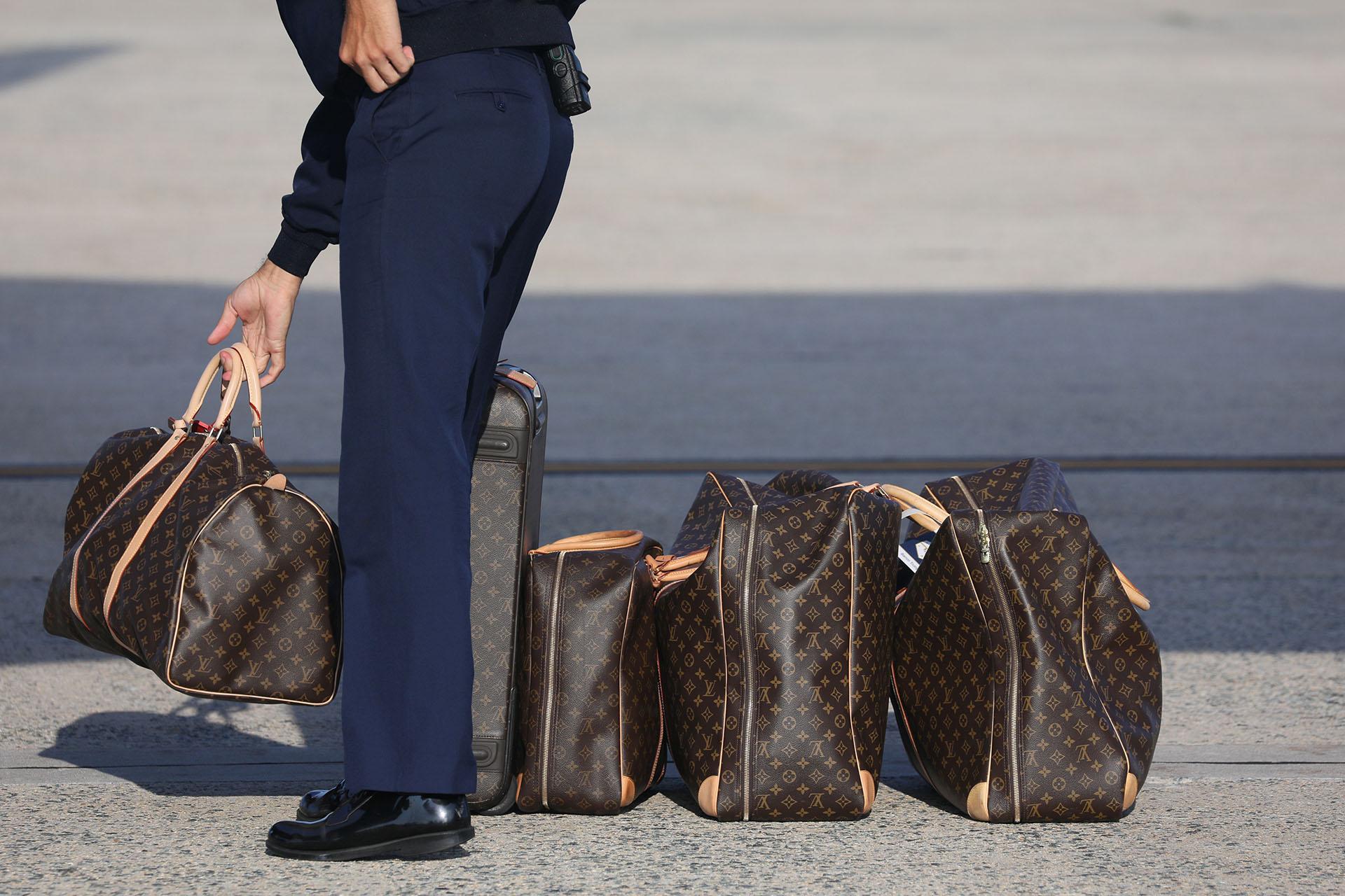 El equipaje de viaje Louis Vuitton de la primera dama