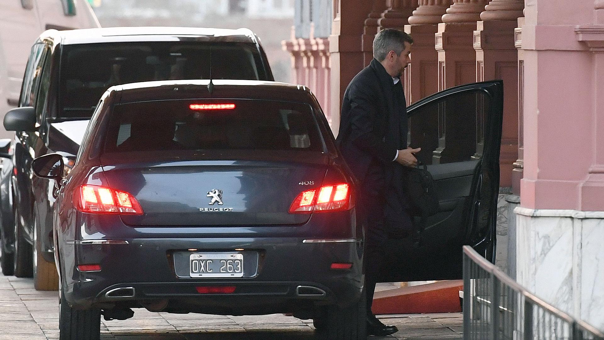 El jefe de Gabinete Marcos Peña fue confirmado pese a los rumores de renuncia