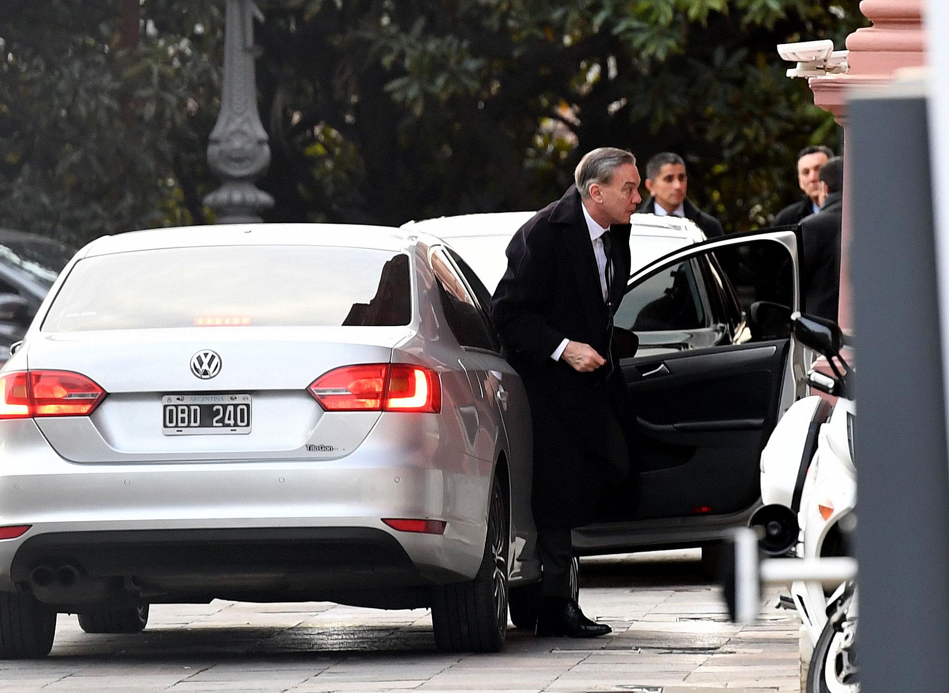El compañero de fórmula de Mauricio Macri, Miguel Ángel Pichetto