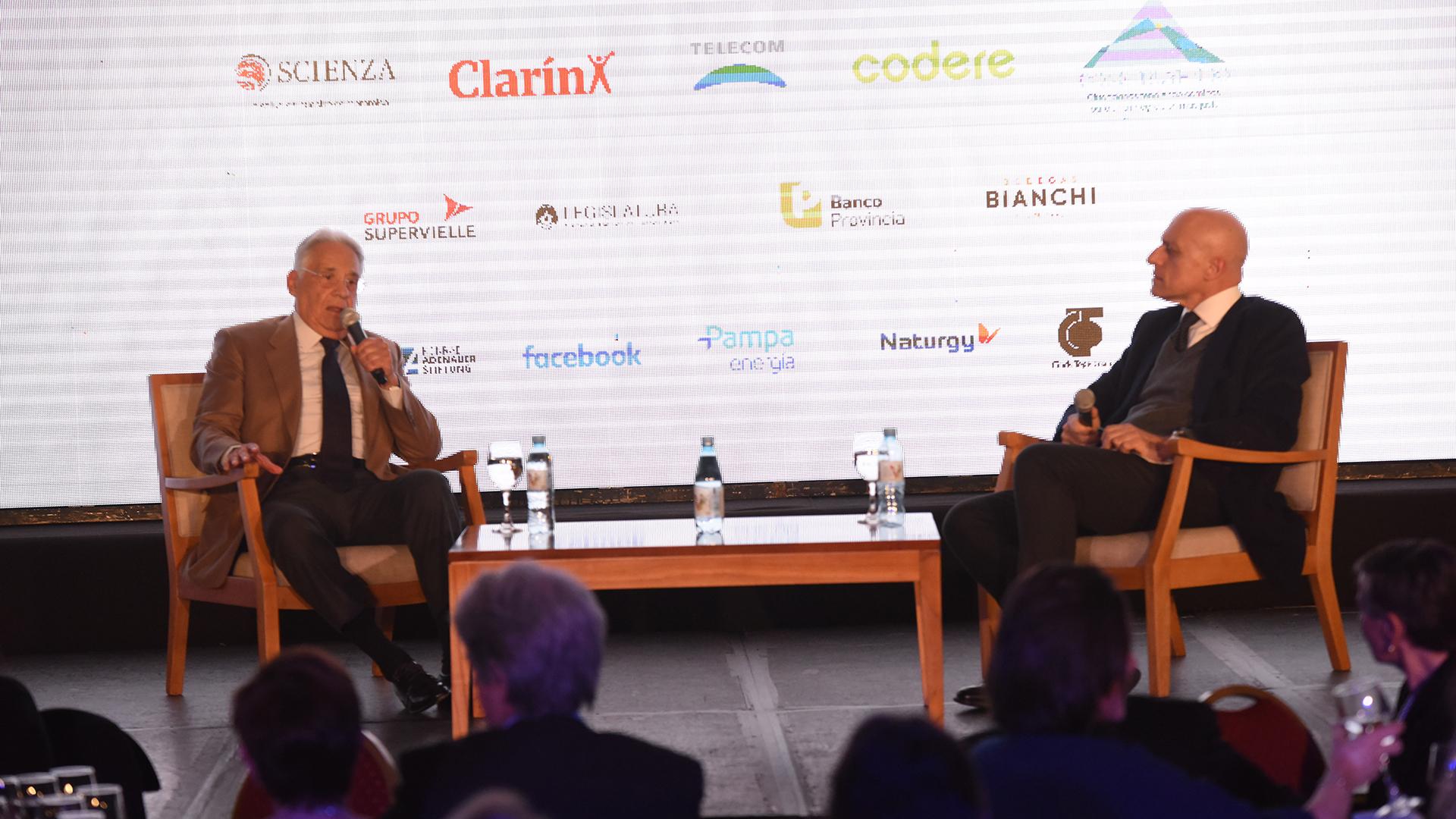 Fernando Henrique Cardoso dialogó con el periodista Carlos Pagni