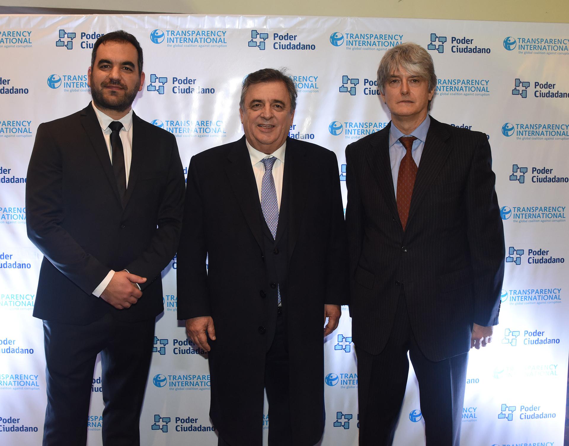 Pablo Secchi, Mario Negri y Hugo Wortman Jofre