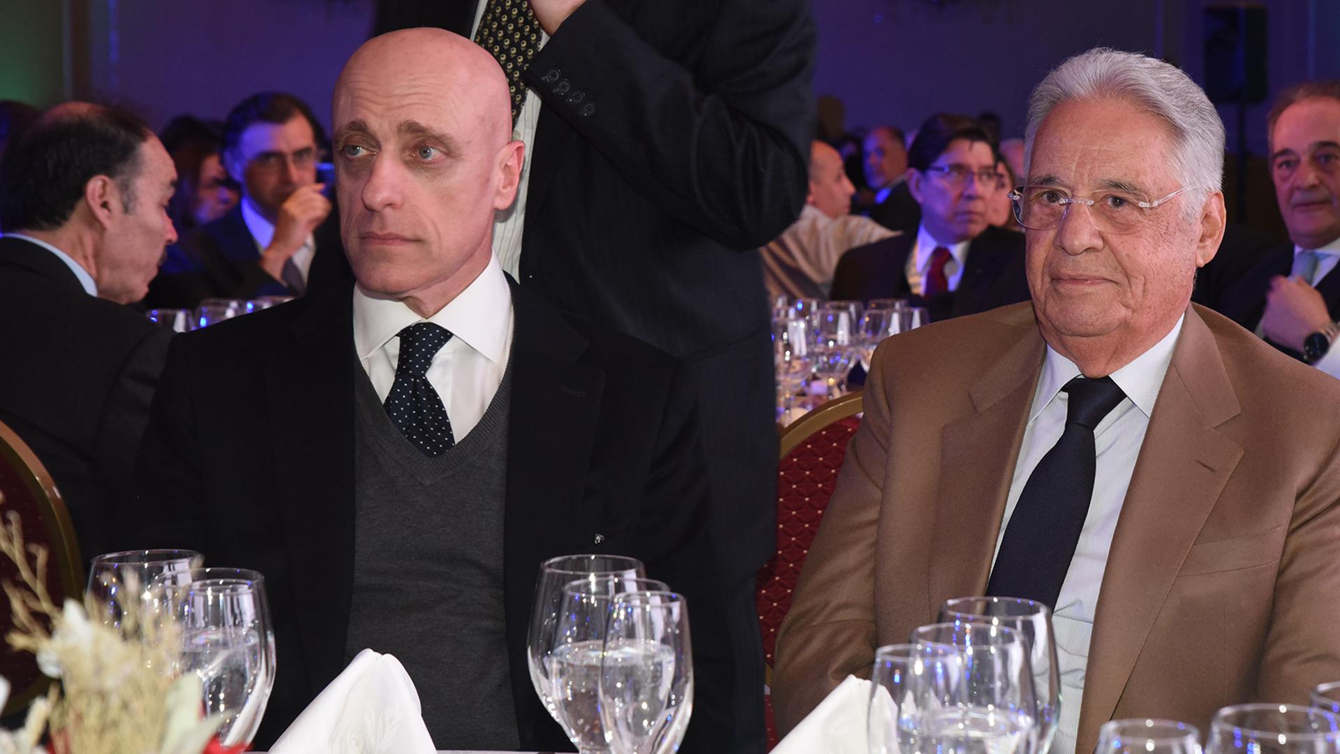Carlos Pagni y Fernando Henrique Cardoso