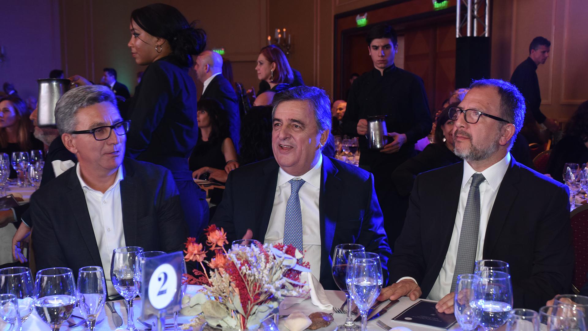 Mario Negri y Fabián Perechodnik