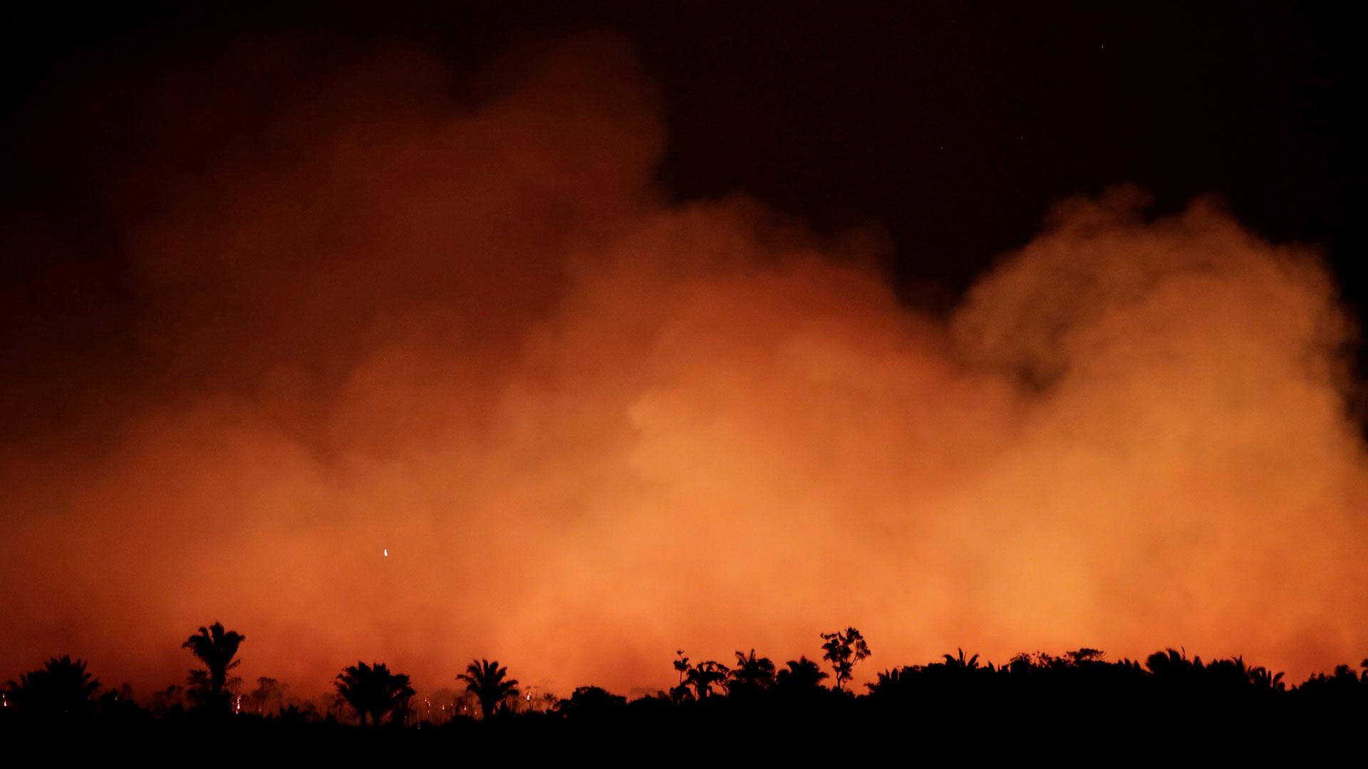 La región amazónica brasileña sufre los peores incendios forestales de los últimos años (Reuters)