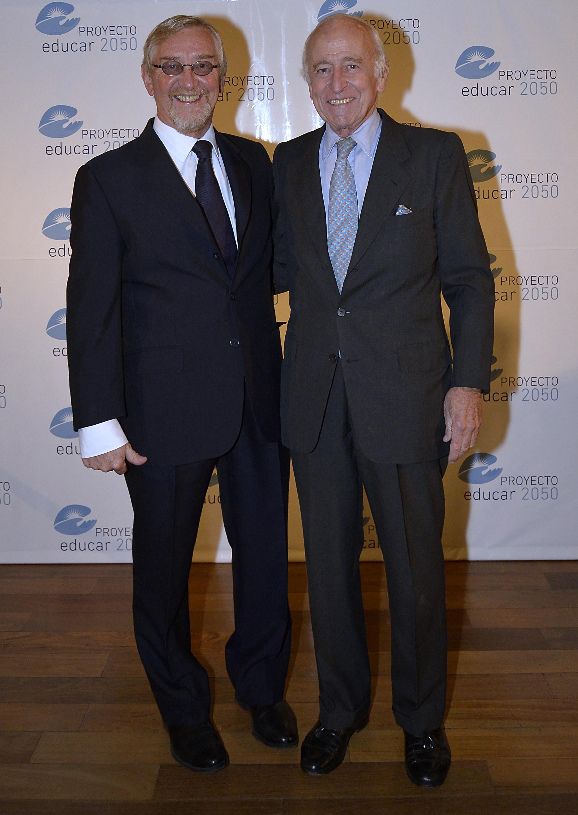 Álvarez Trongé y el empresario Santiago Soldati