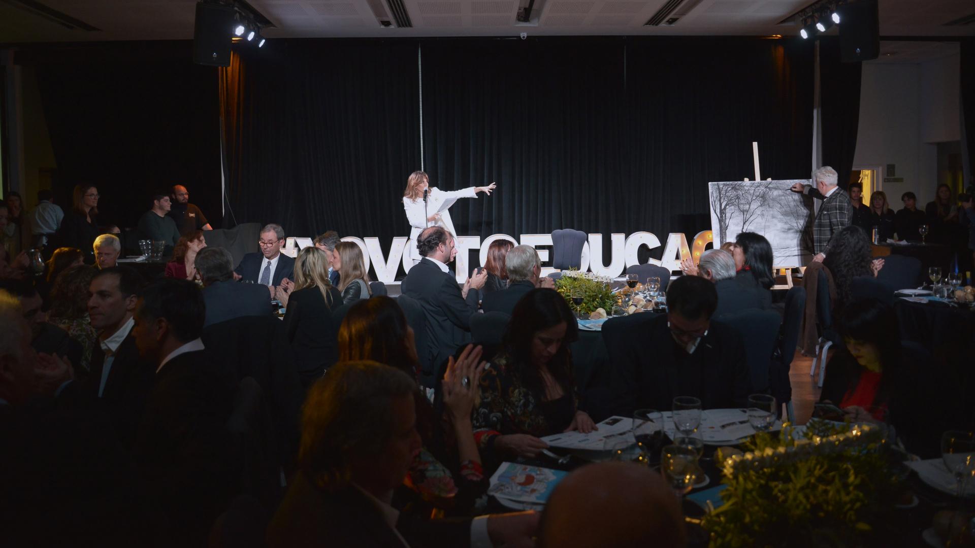 La gala tuvo como lema #YoVotoEducación