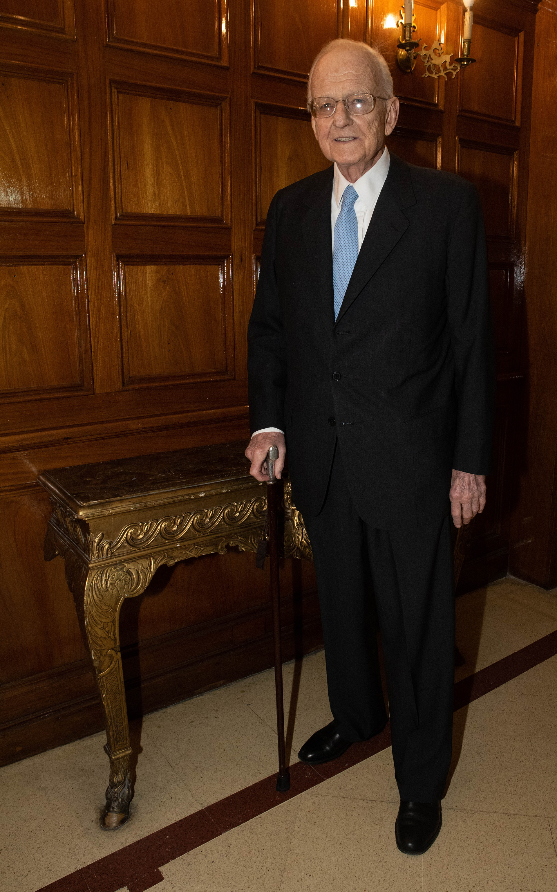 Gregorio Baden, profesor emérito de la UBA, también reconocido por ADEPA