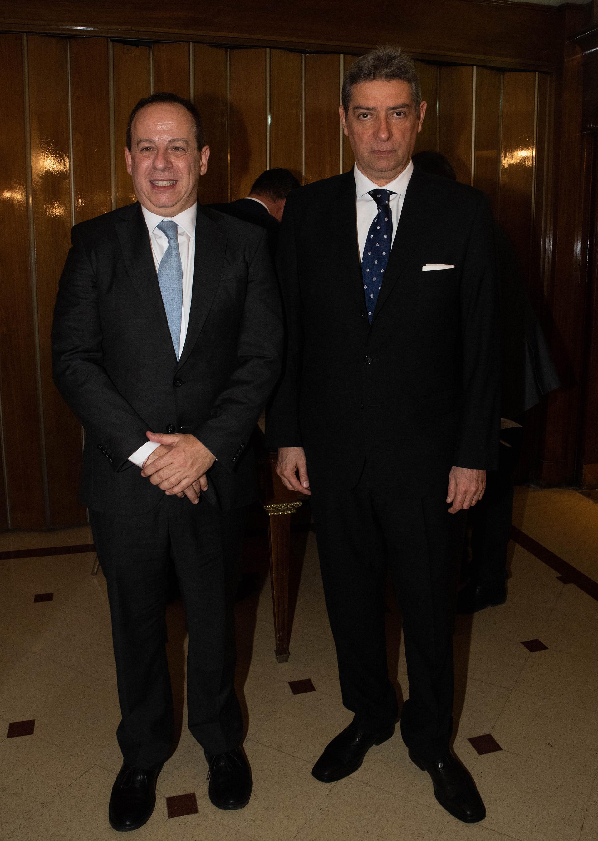 Martín Etchevers y Horacio Rosatti
