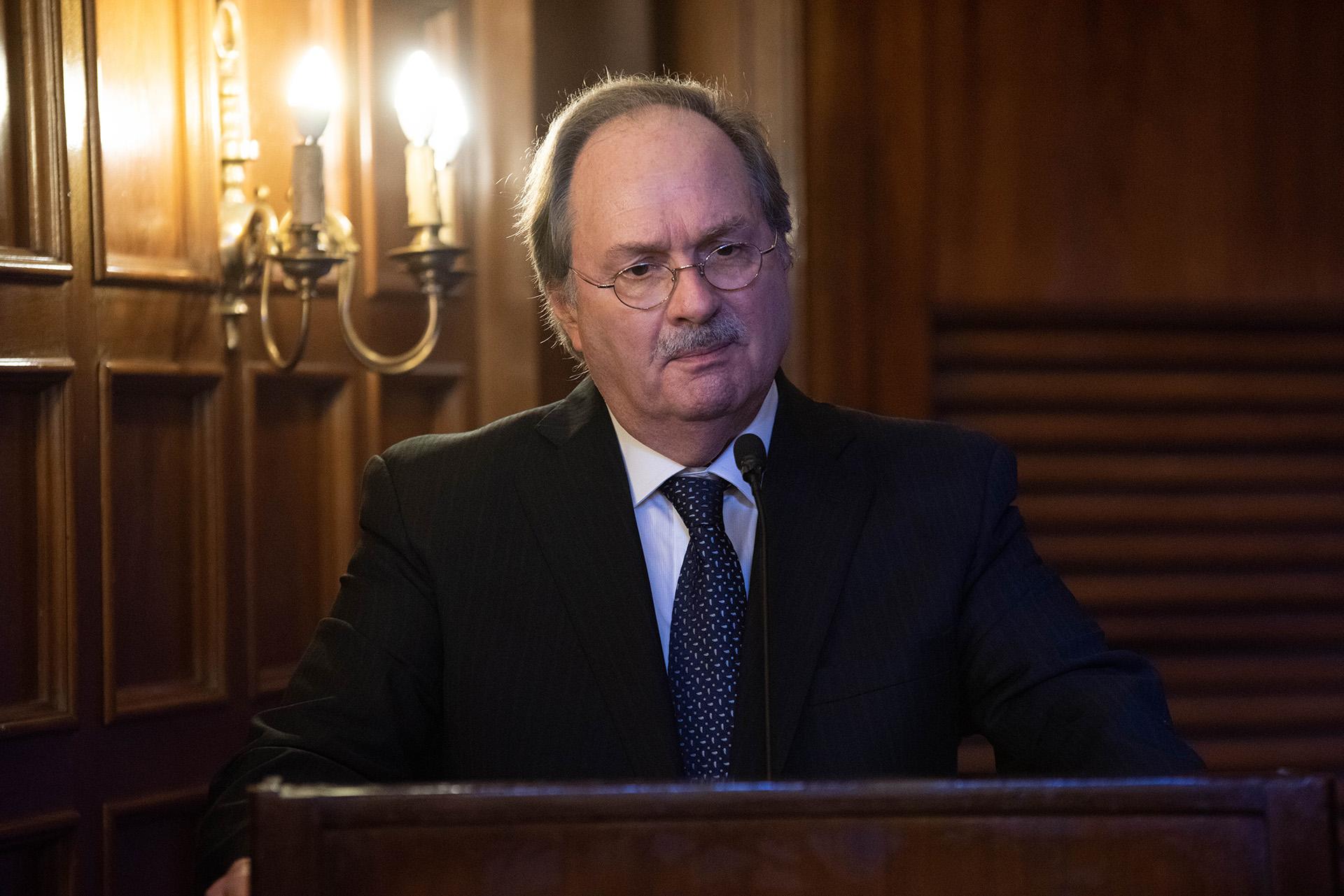 Gustavo Vittori, secretario del Museo de la Constitución, también fue distinguido con el máximo premio