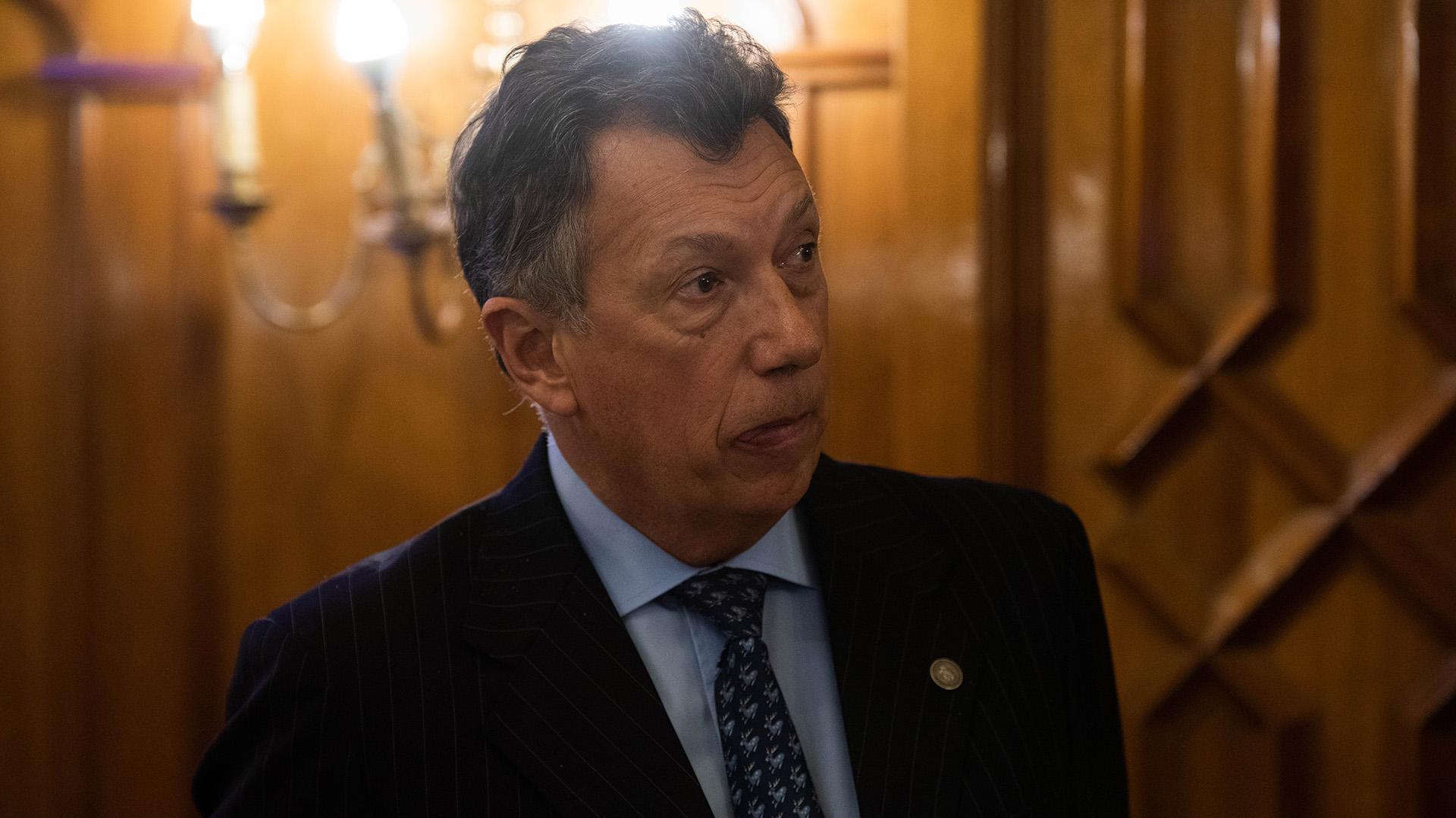 Alberto Dalla Via, vicepresidente de la Cámara Nacional Electoral