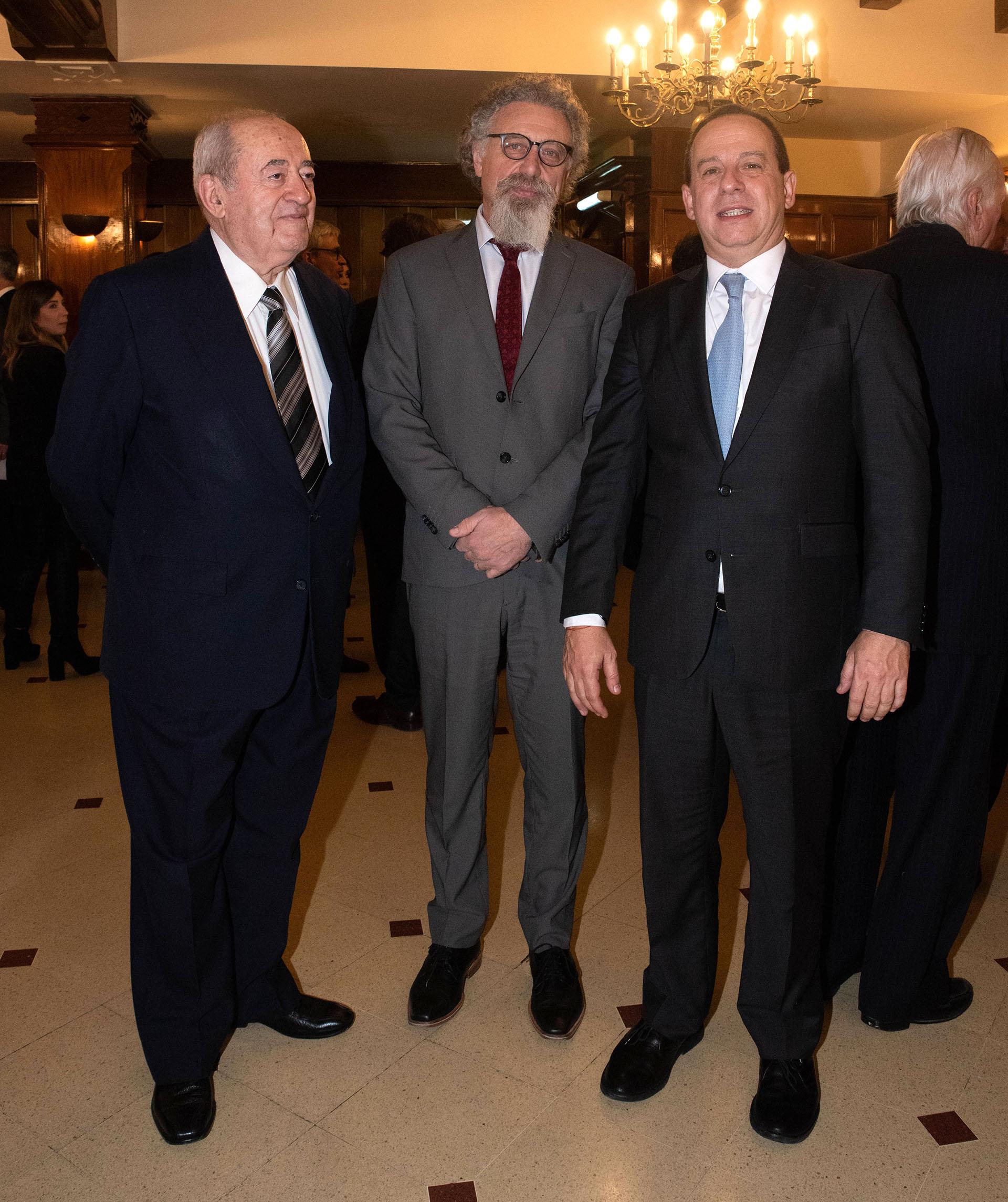 Guillermo Ignacio, Alfredo Luenzo y Martín Etchevers