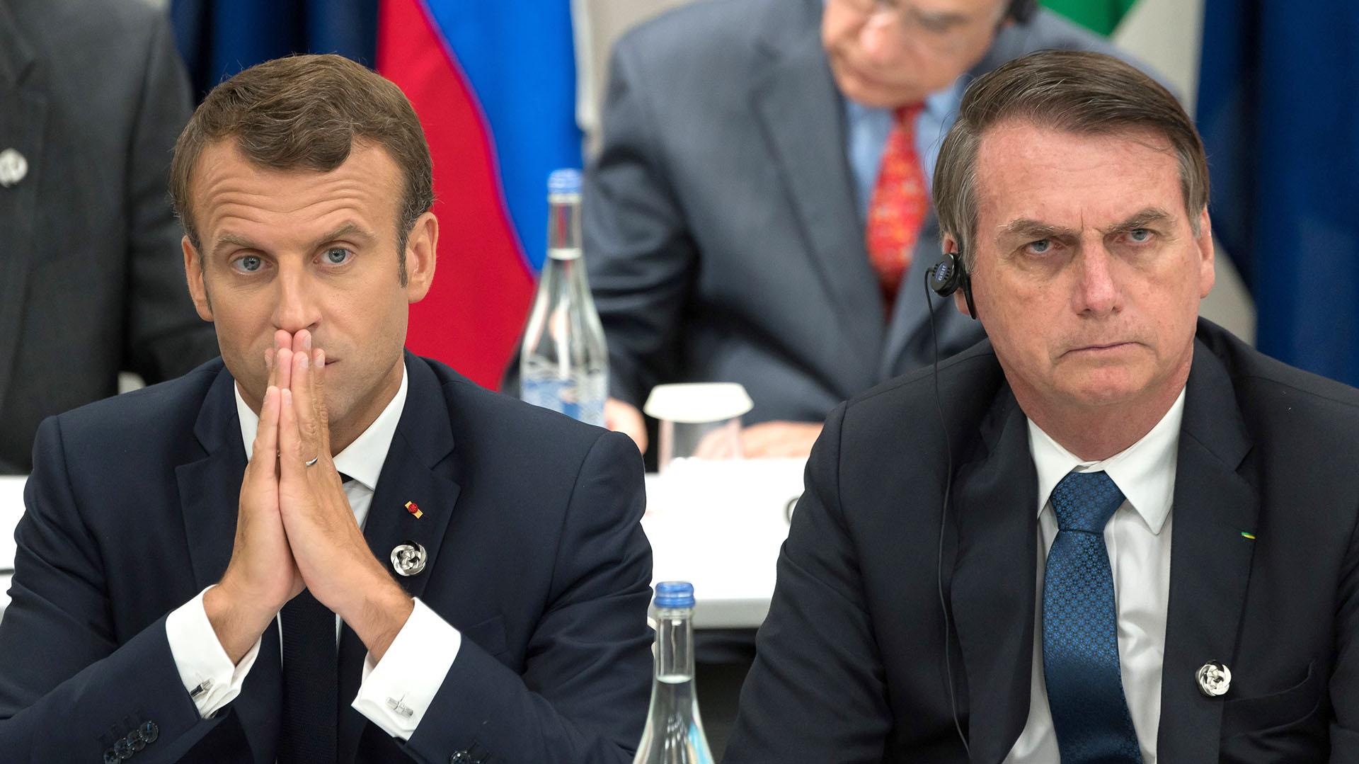 La Reaccion De Emmanuel Macron Tras La Burla De Jair Bolsonaro A Su Esposa Infobae