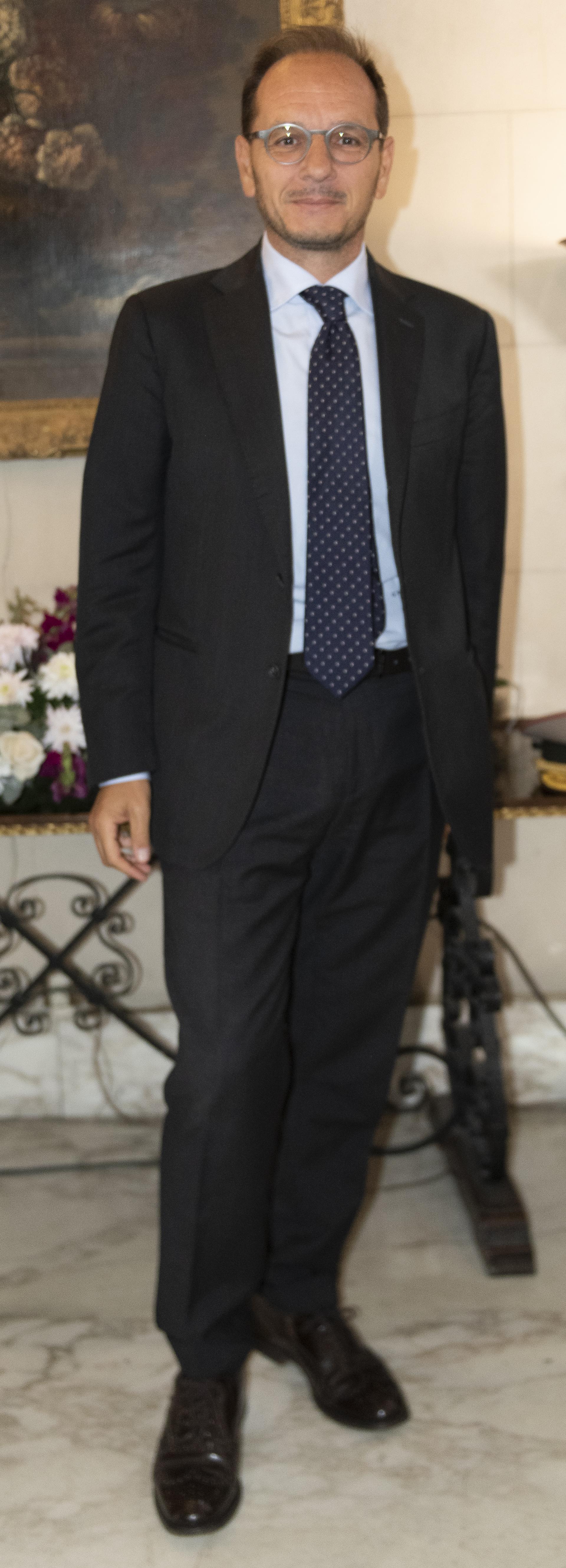 El embajador de Italia en Buenos Aires, Giuseppe Manzo