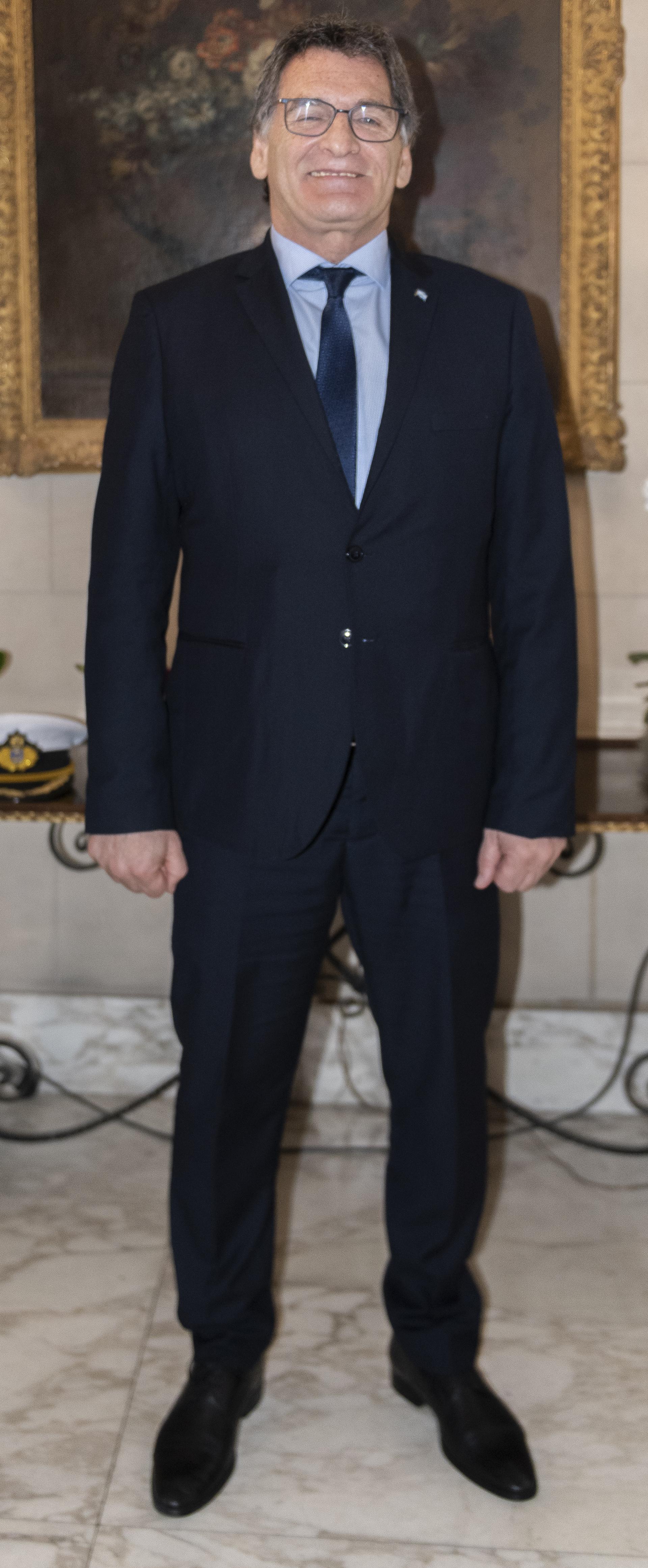 El secretario de Derechos Humanos, Claudio Avruj