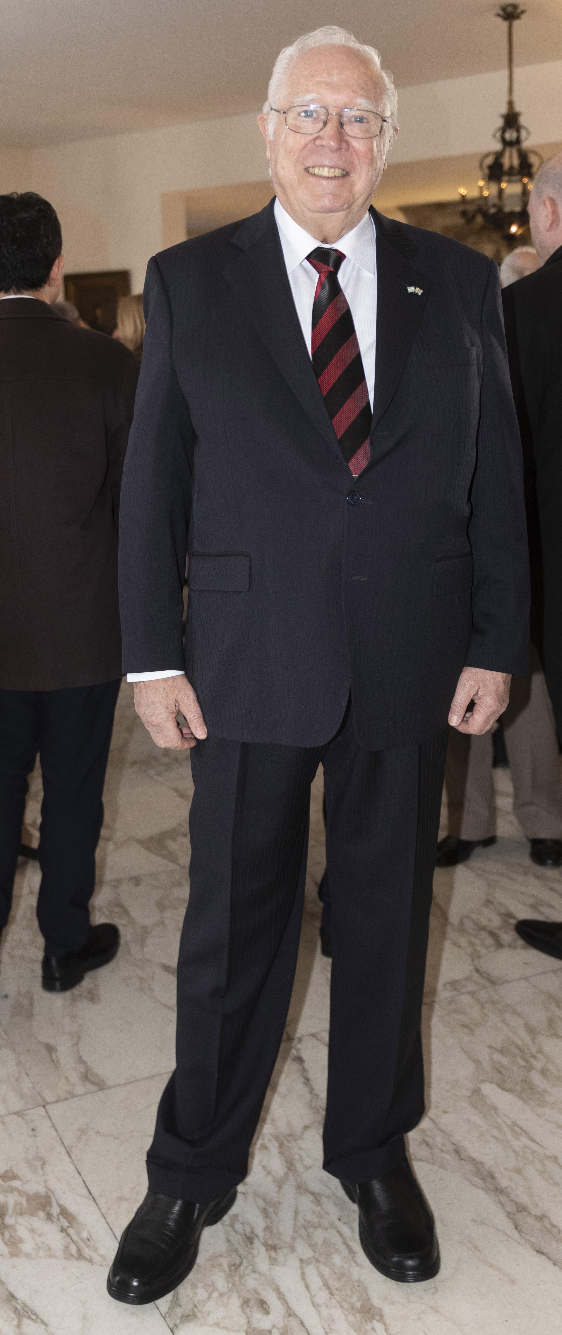 Alfrede Davérede, director de la cámara de comercio argentino uruguaya