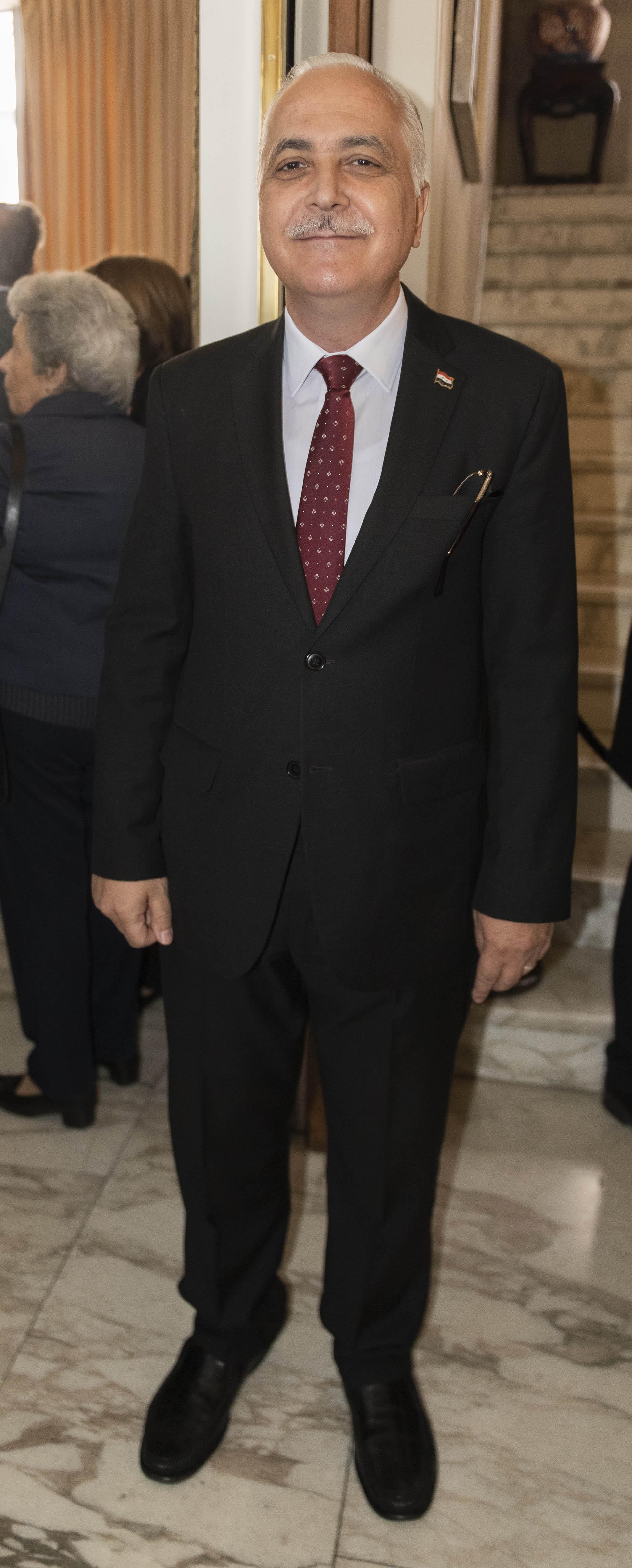 Mohamed Maher Mahfouz, ministro consejero de la embajada de la república Árabe Siria en Argentina