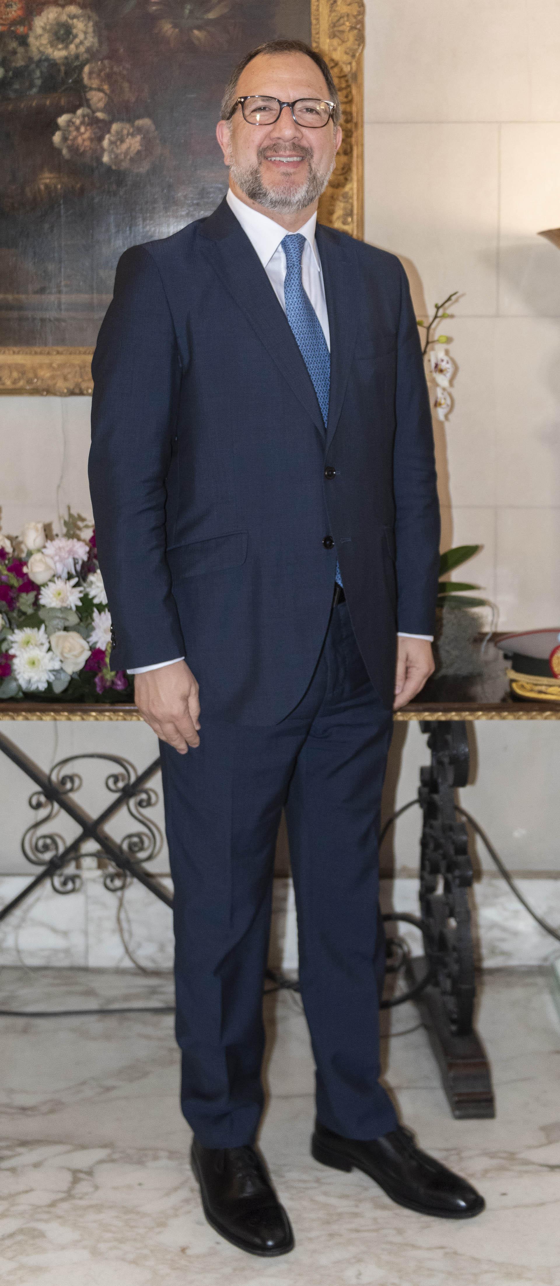 Fabián Perechodnik,secretario general de la Gobernación bonaerense