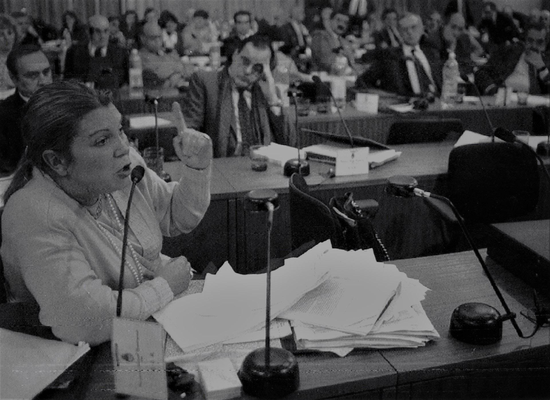 Elisa Carrió. La Constituyente le permitió instalarse como referente nacional del radicalismo