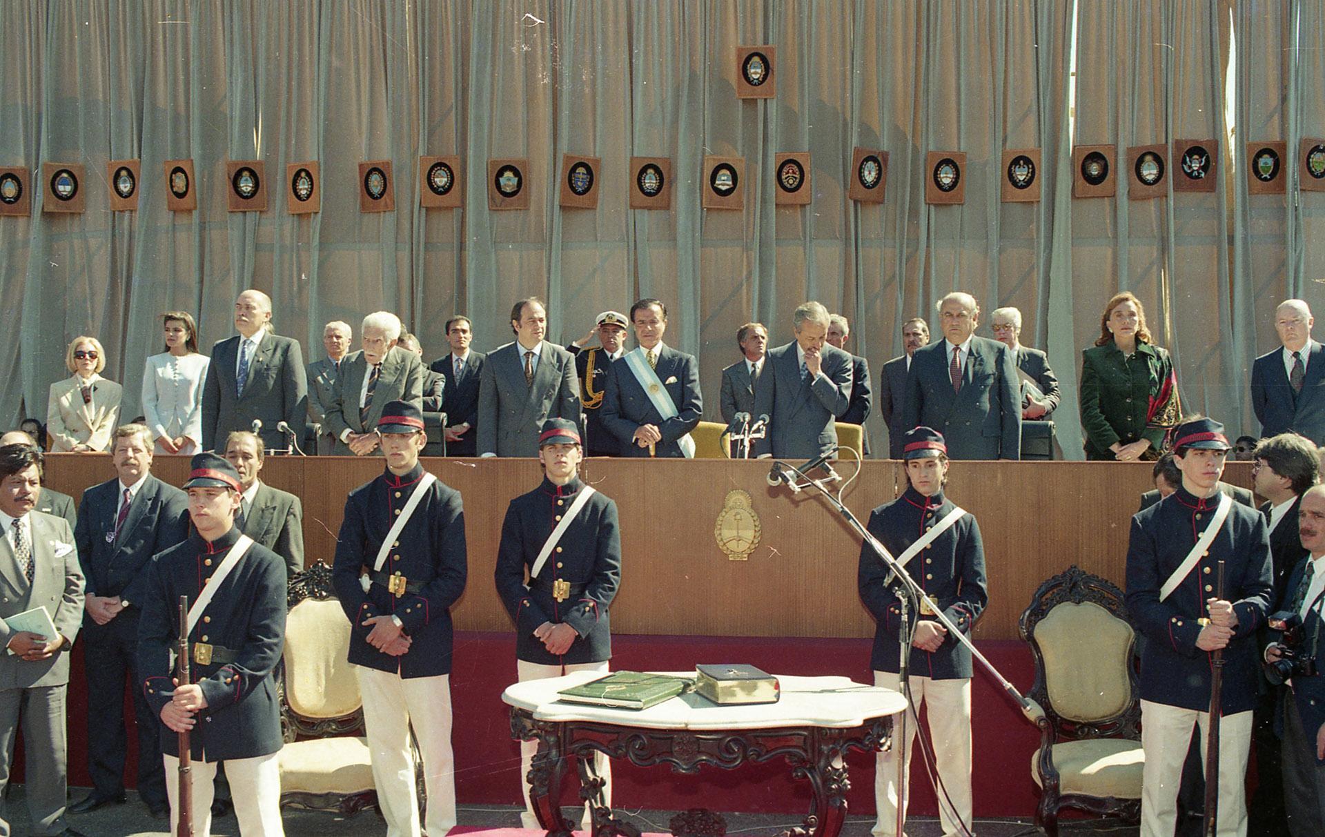 Texto original de la Constitución Nacional custodiada