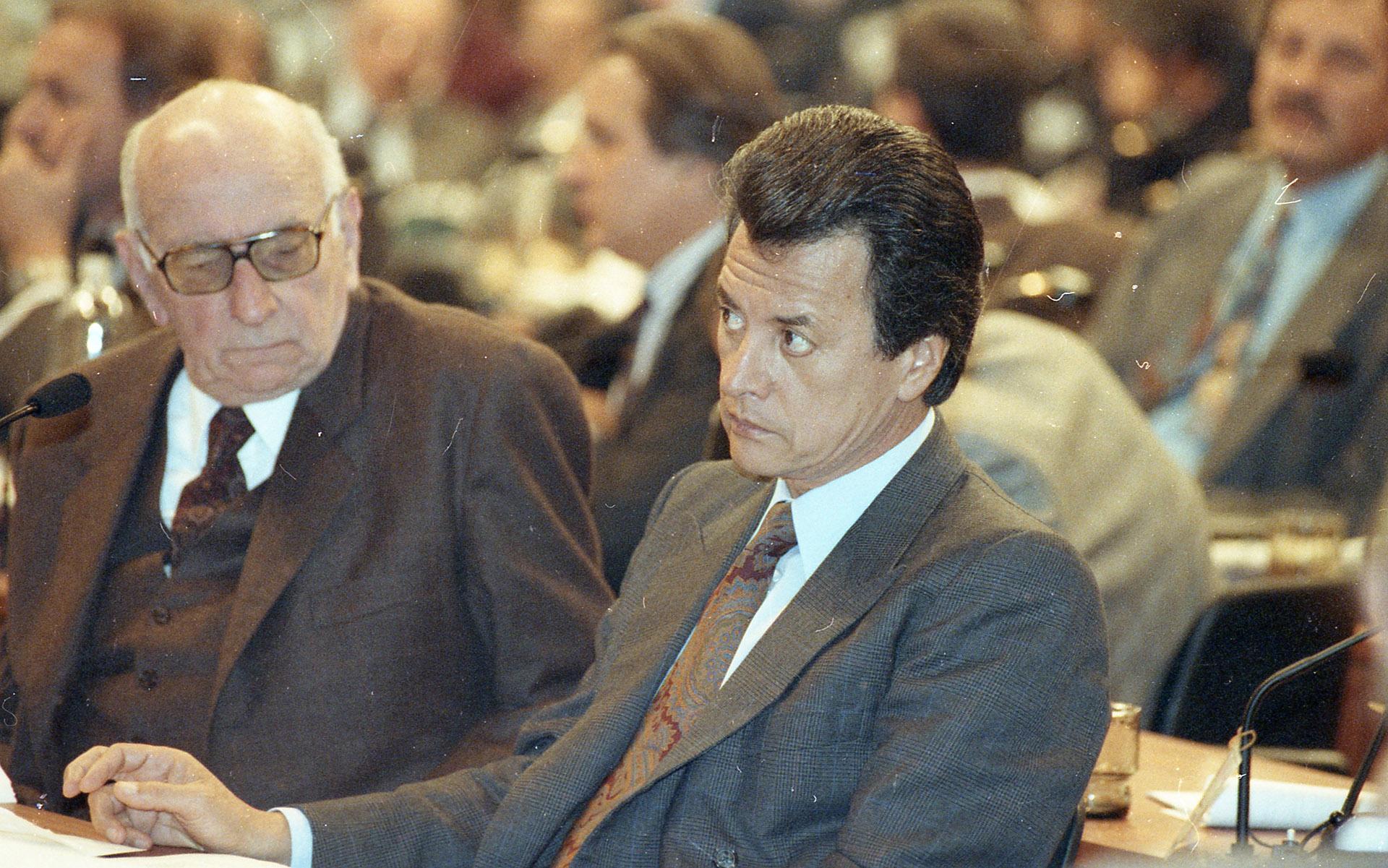 Ramón Palito Ortega fue convencional constituyente. En ese momento era gobernador de Tucumán