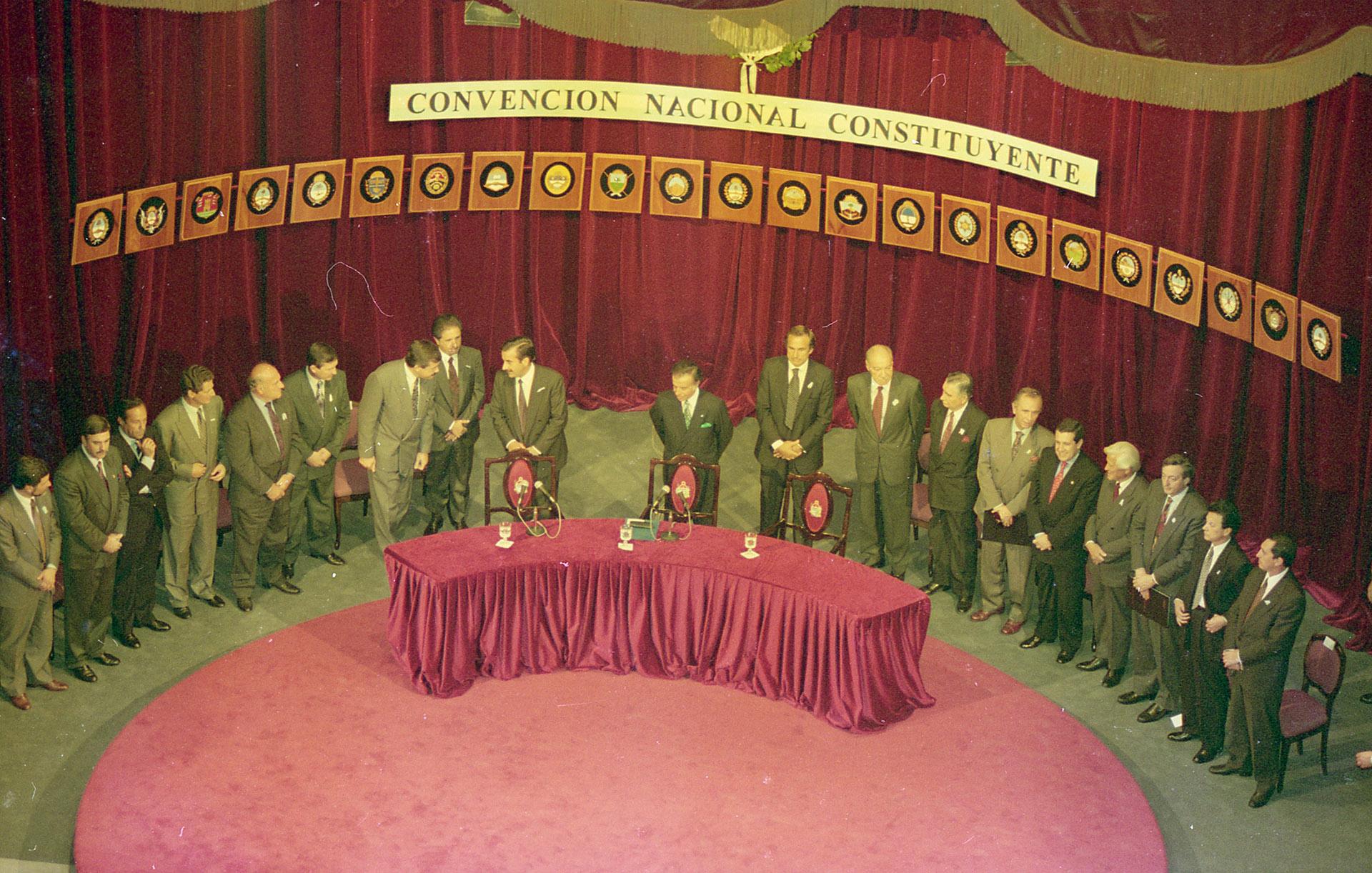 Finalización de la Asamblea Constituyente