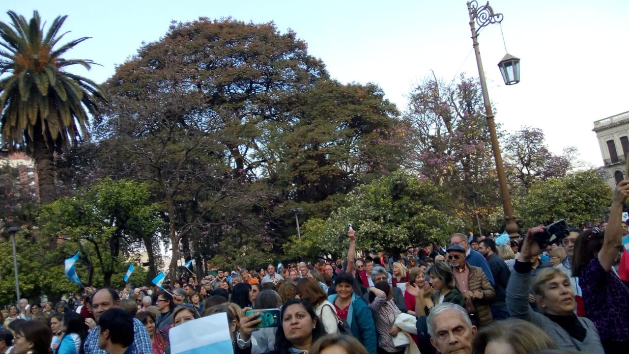 La marcha también se replicó en Salta