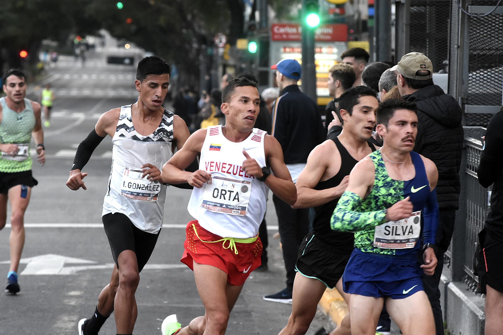 Hubo corredores de todos los rincones de Latinoamérica