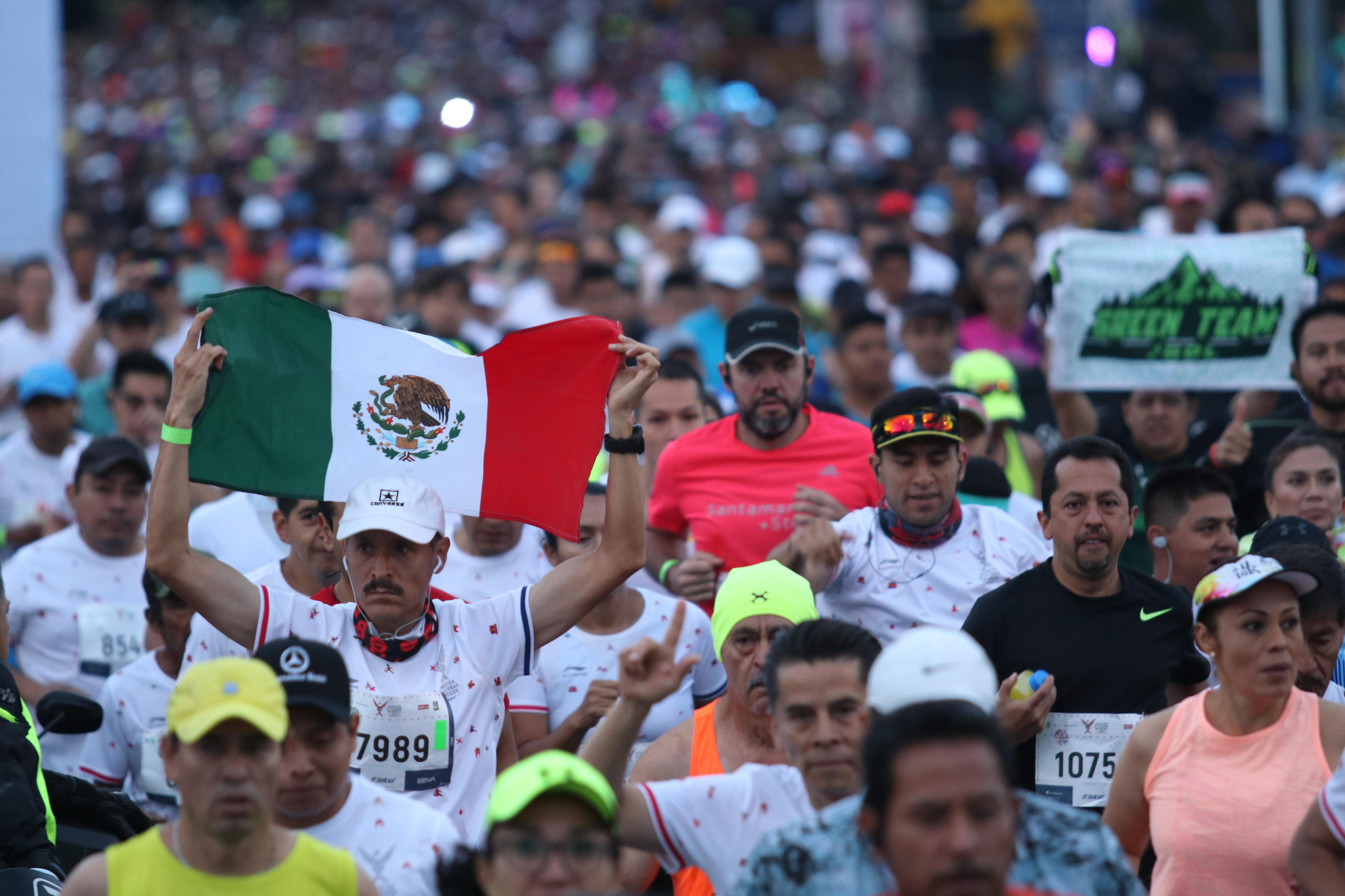 Se trata de la única carrera de 42 kilómetros 195 metros de Latinoamérica con Etiqueta de Oro (Foto: Cuartoscuro)