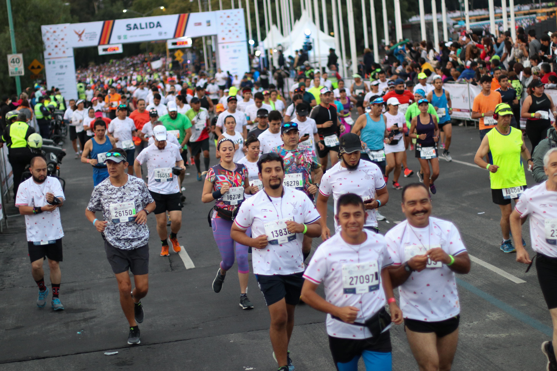 La prueba ha sido ganada por figuras como el keniano Simon Biwott, el mexicano Dionicio Cerón, ambos subcampeones mundiales, y los mexicanos Rodolfo Gómez y Benjamín Paredes, segundos en el mítico maratón de Nueva York (Foto: Cuartoscuro)