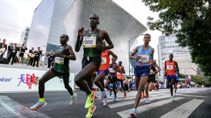 El maratón cambió su ruta para beneficiar a los competidores (Foto: Maratón CDMX)