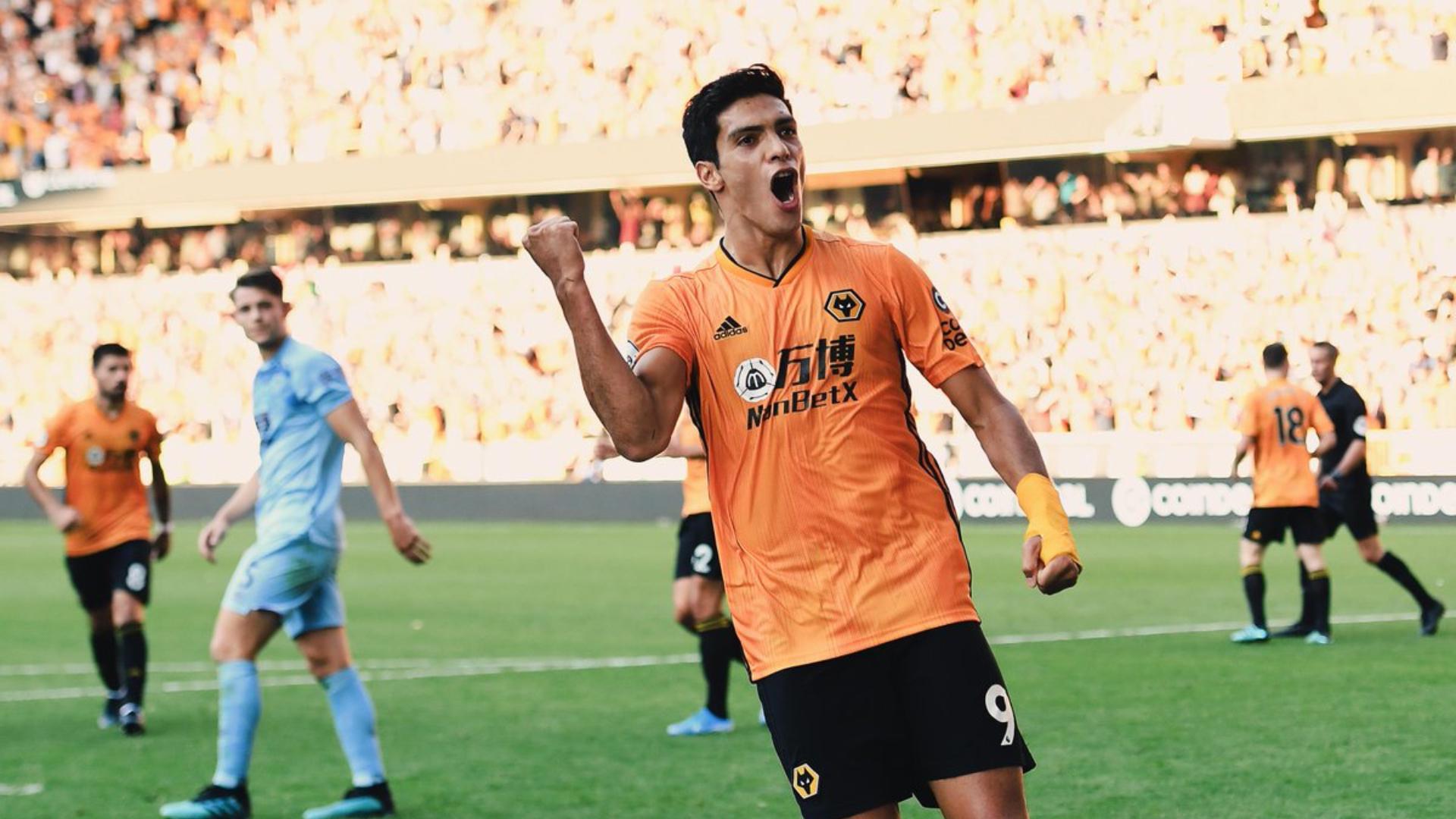 80159589d414 Raúl Jiménez rescató un empate para el Wolves con su primer gol de ...