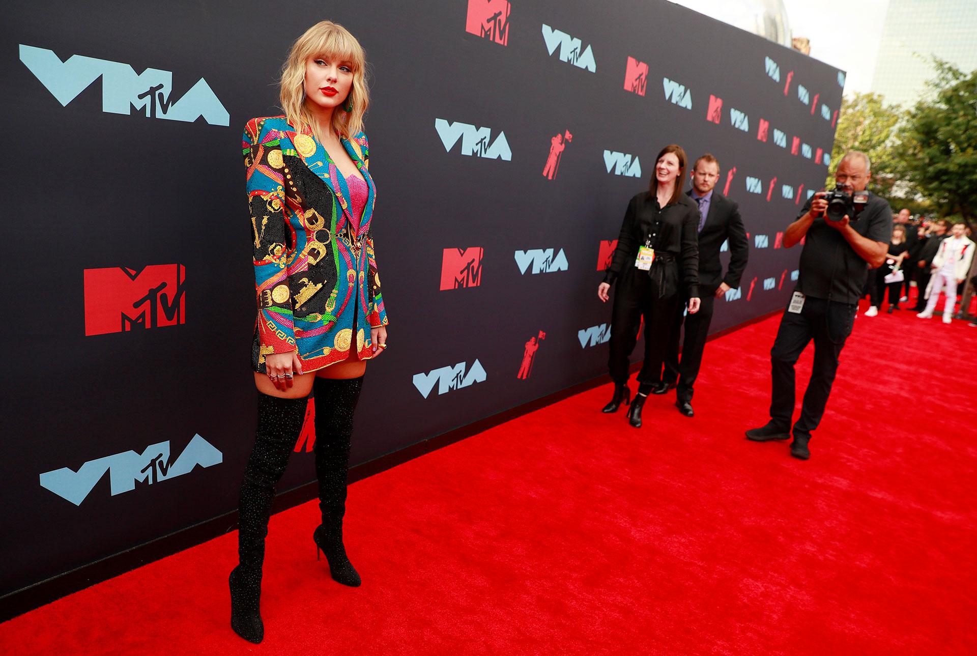 Taylor Swift es la favorita de la noche con 10 nominaciones a los MTV VMAs 2019